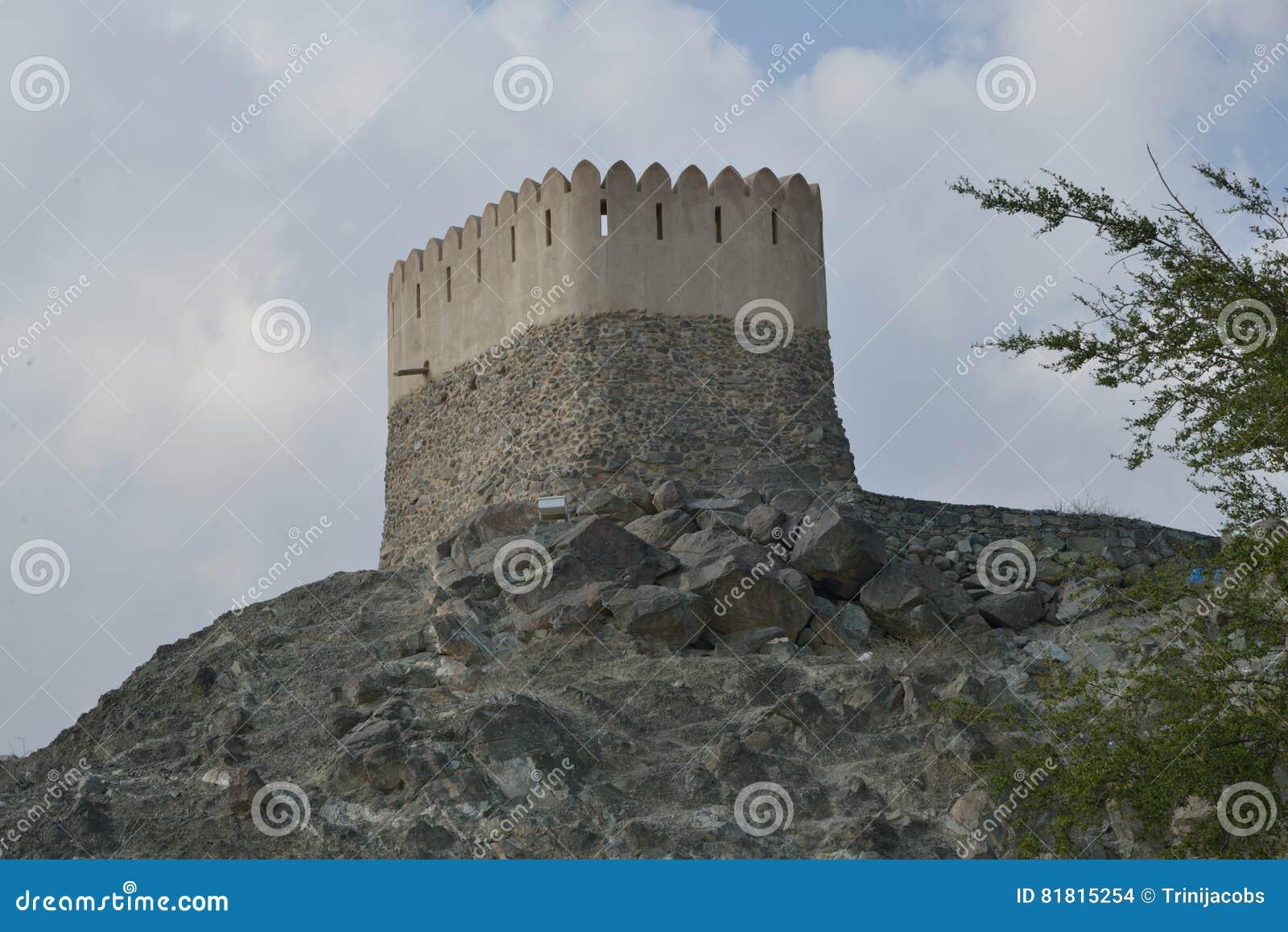 Башня вахты за мечетью Badiyah Al