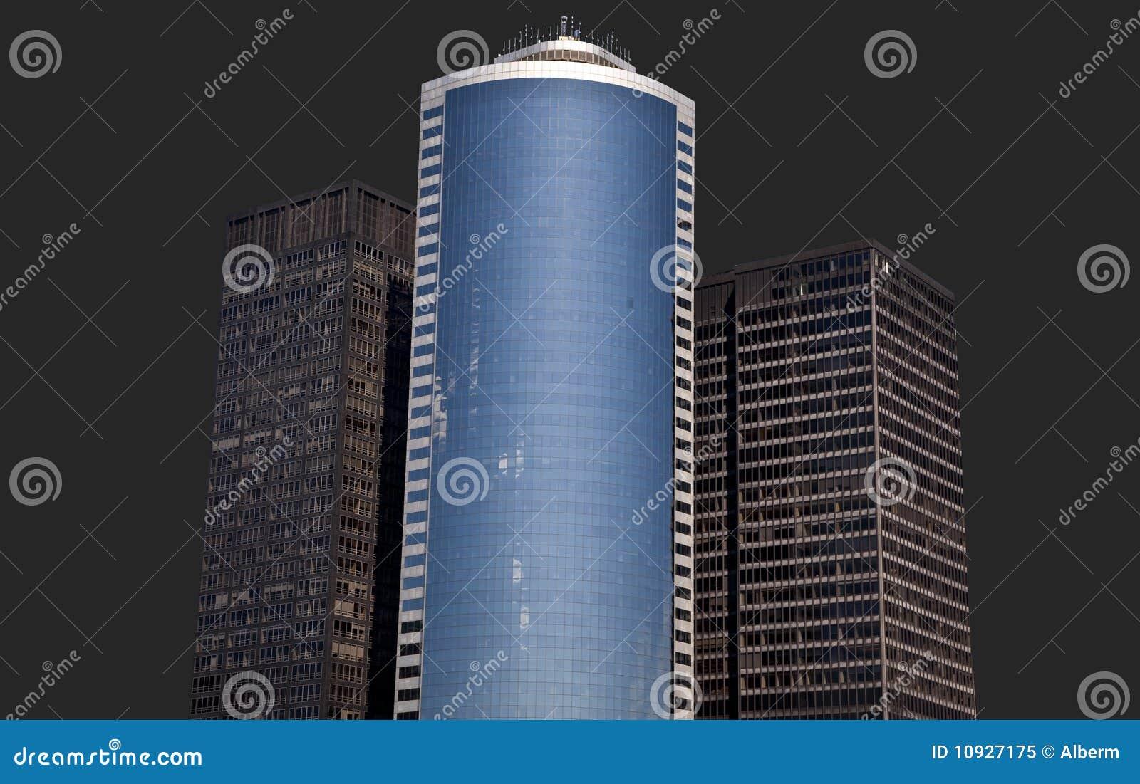 башня изолированная зданиями