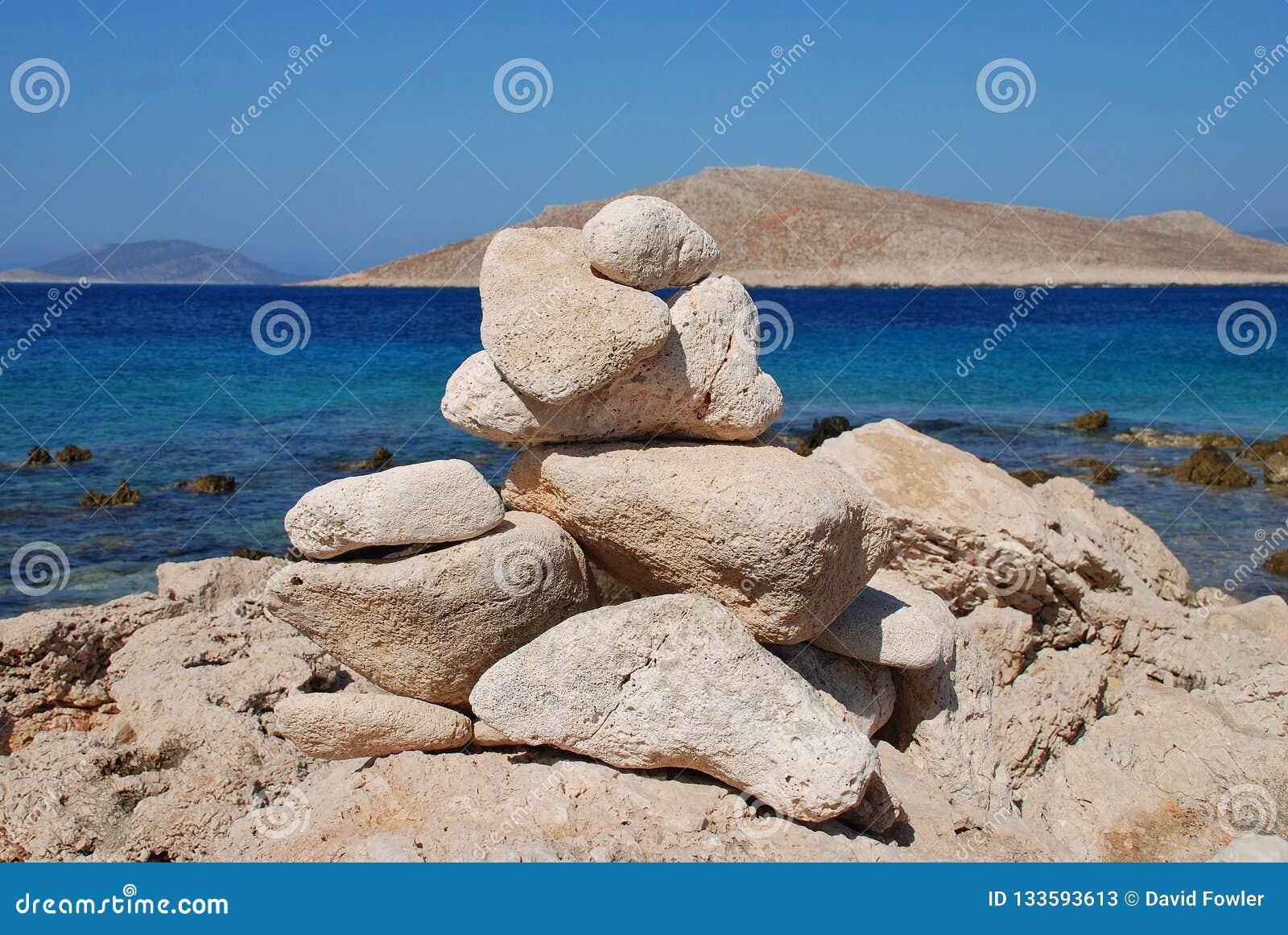 Башня камня Ftenagia, Halki