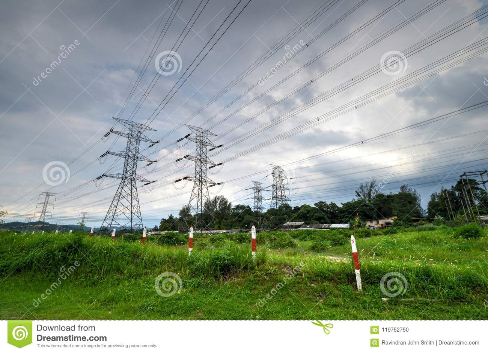 Башня передачи или башня силы