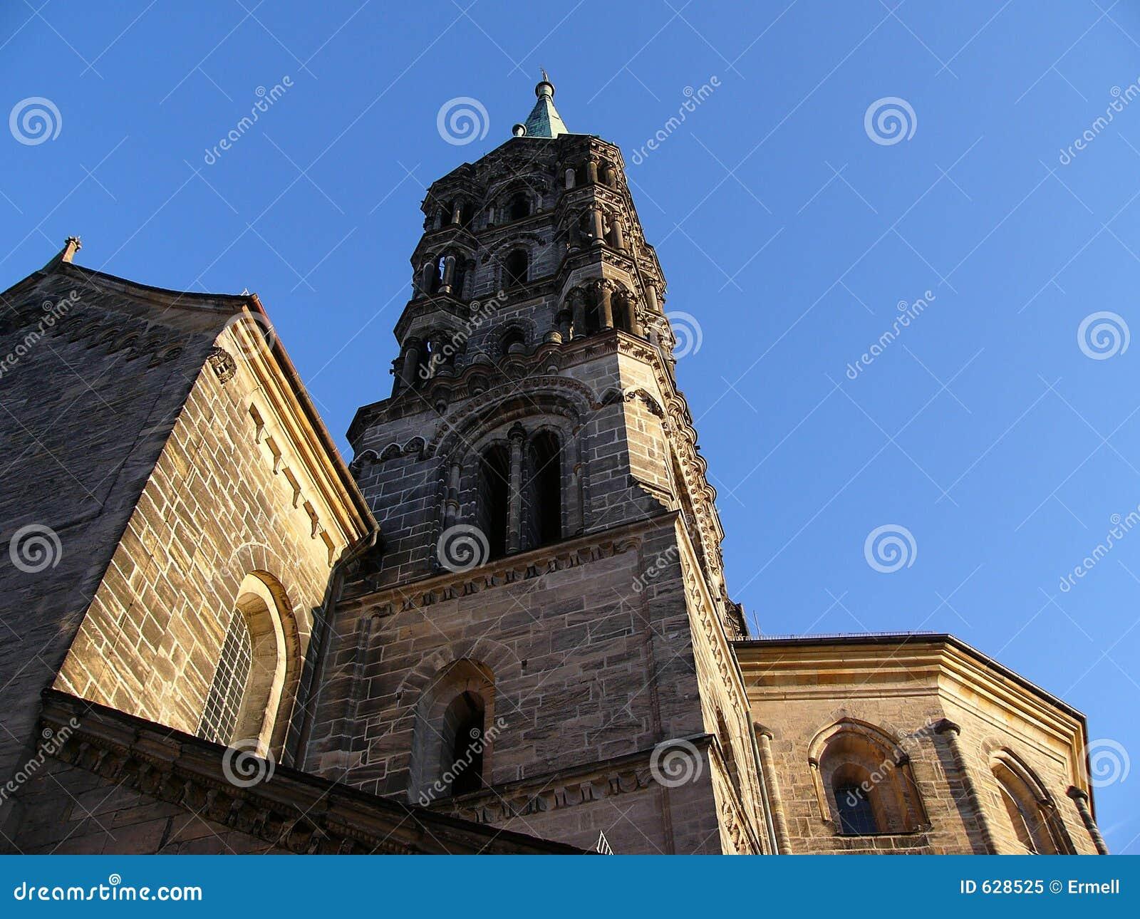 Download башня собора bamberg стоковое изображение. изображение насчитывающей башня - 628525