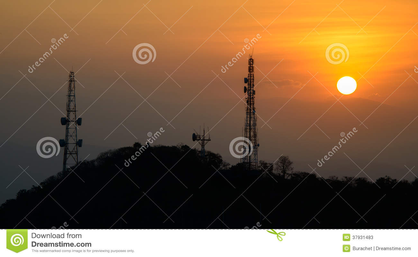 Башня сотового телефона