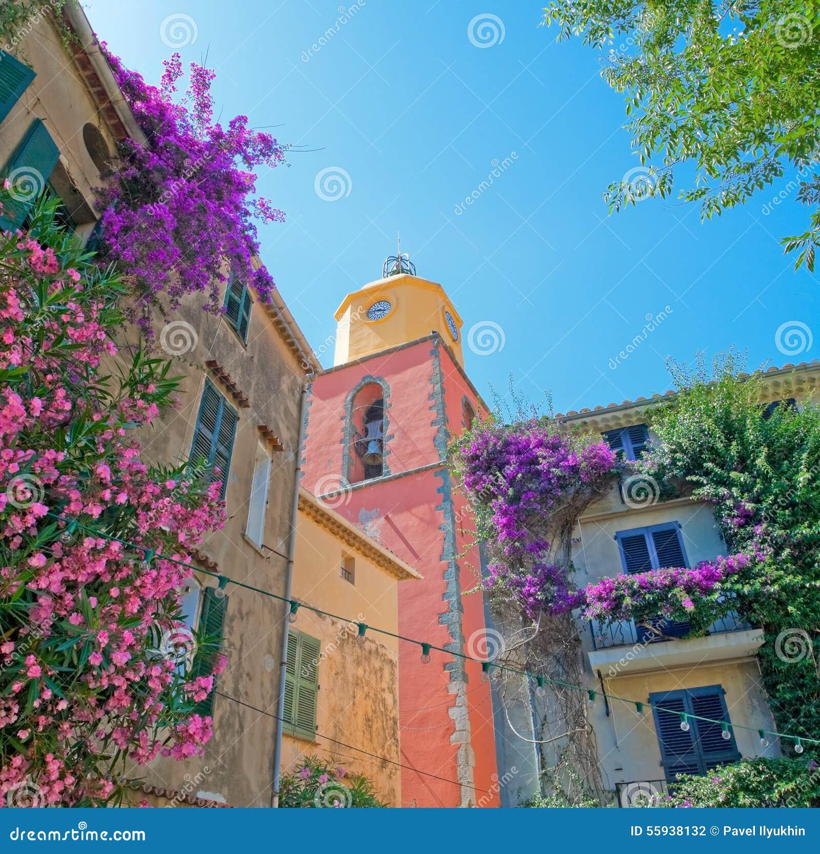 Башня с часами в St Tropez