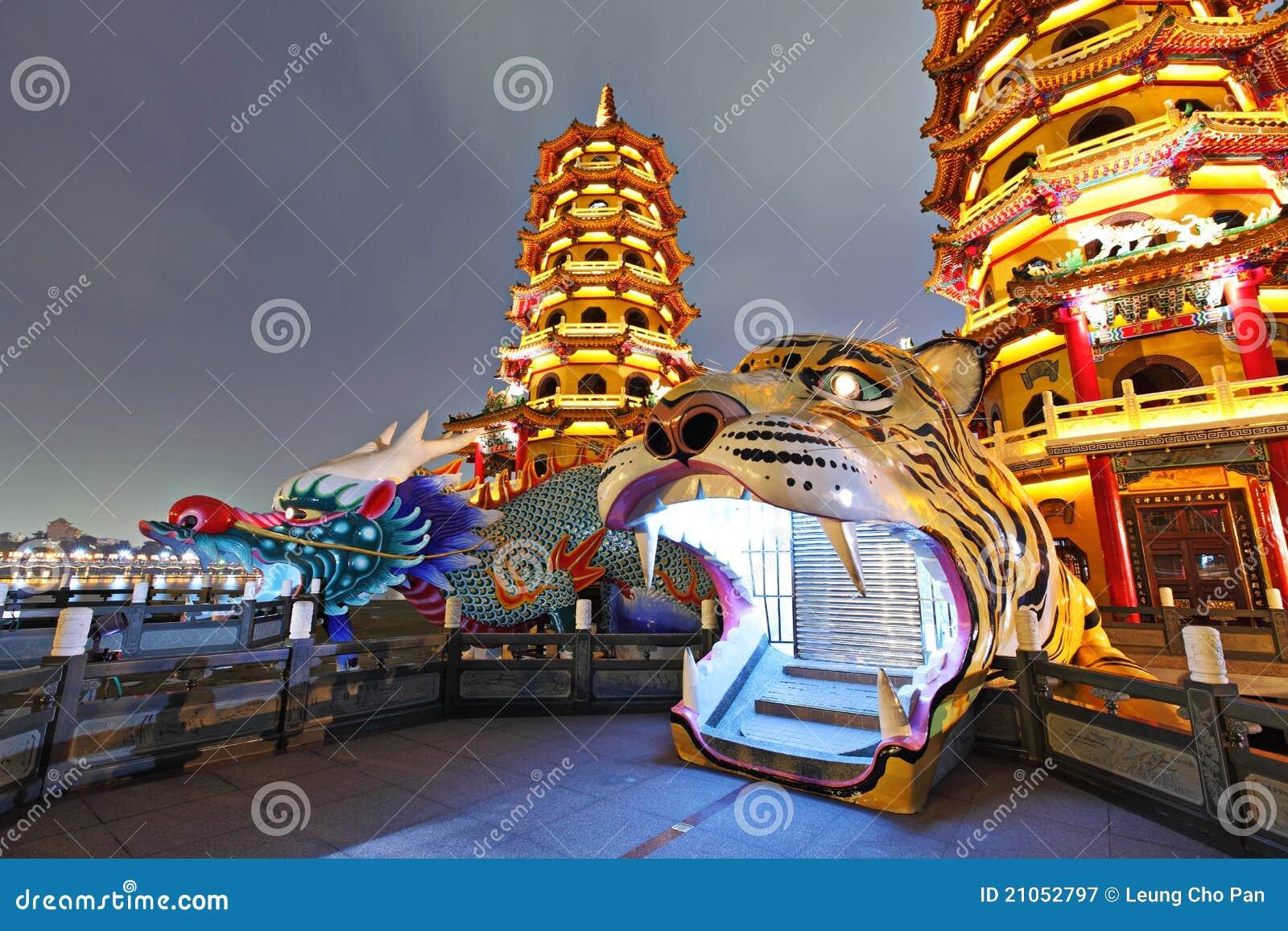 башня тигра дракона