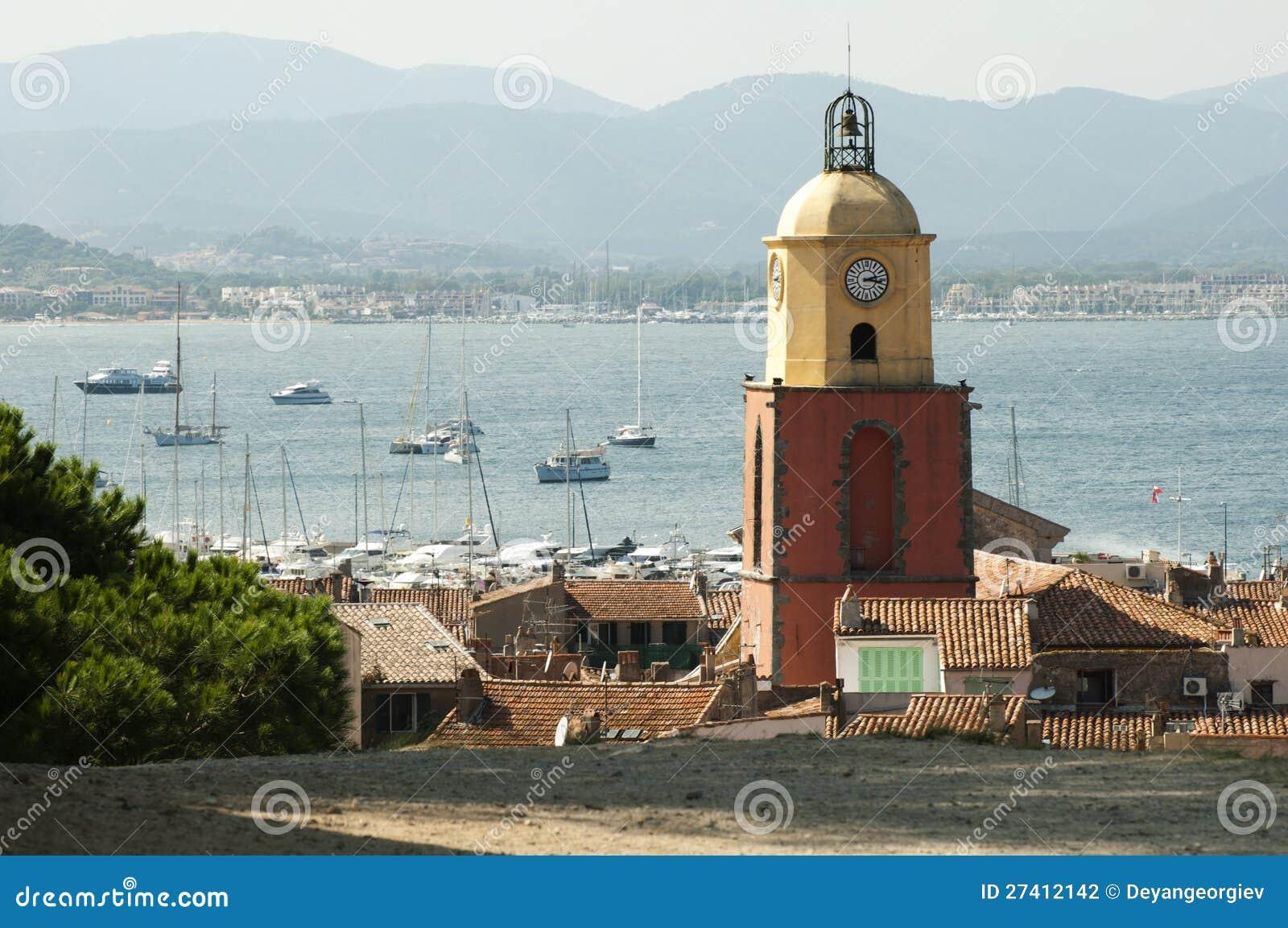Башня часов в St Tropez