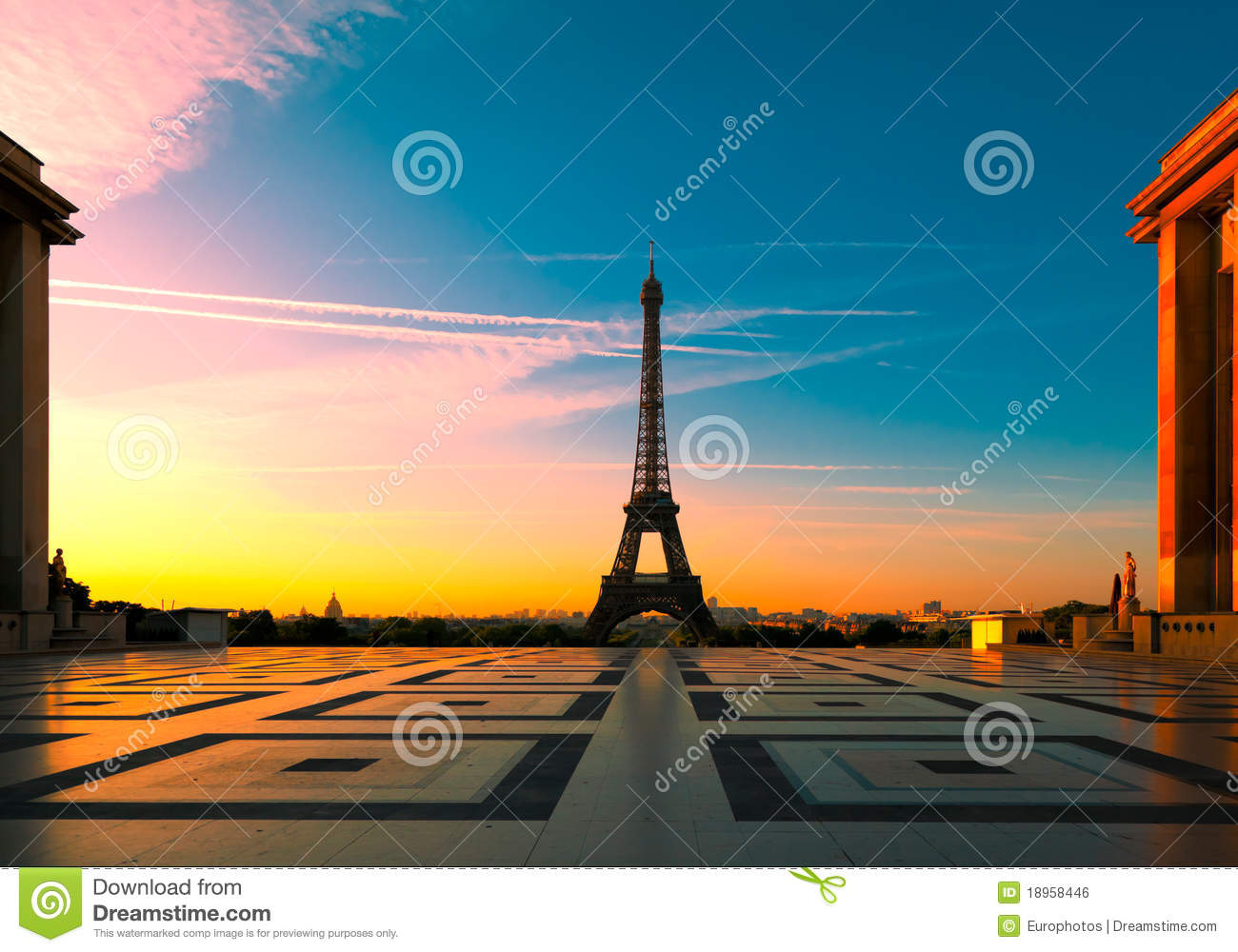 башня eiffel paris