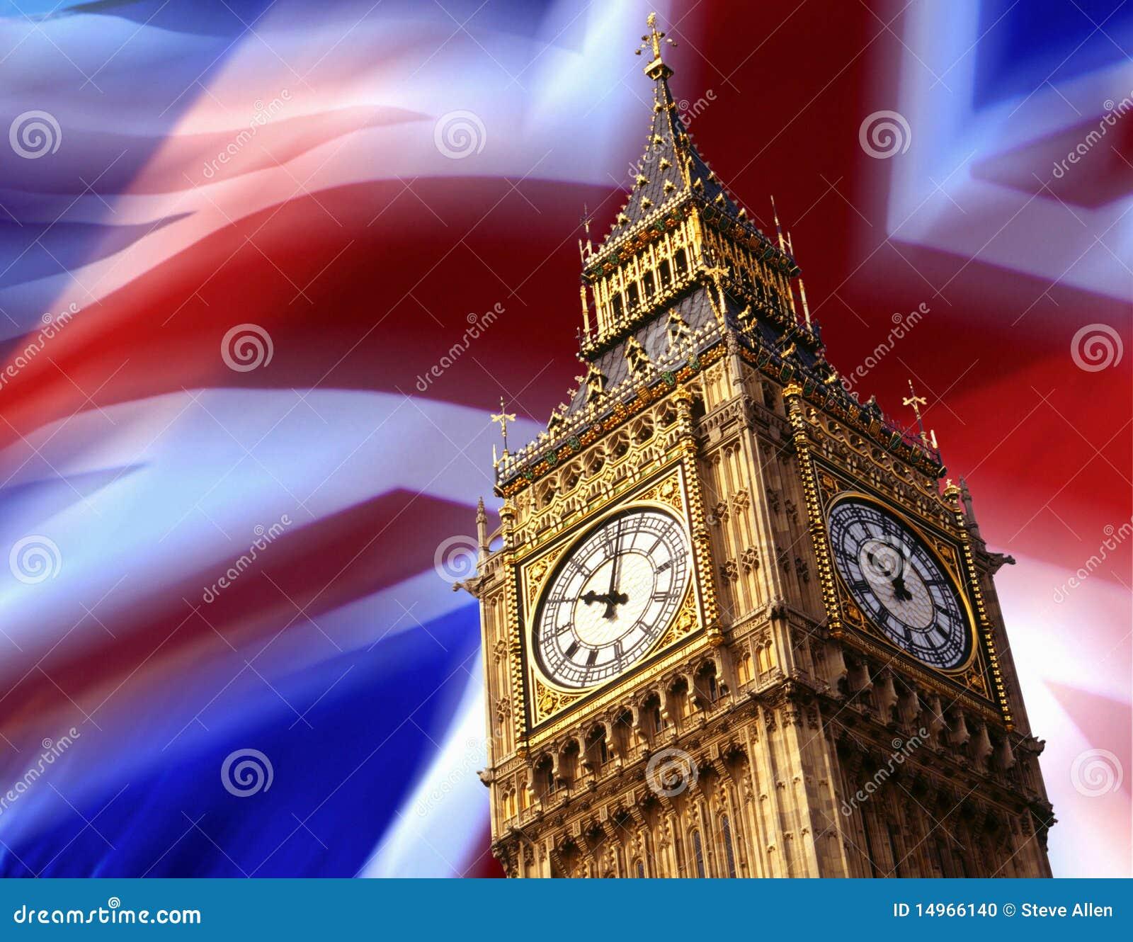 башня london часов ben большая