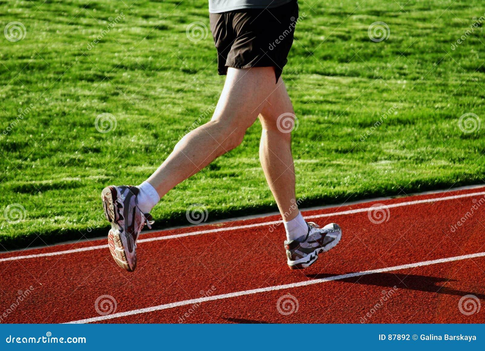 беговая дорожка человека