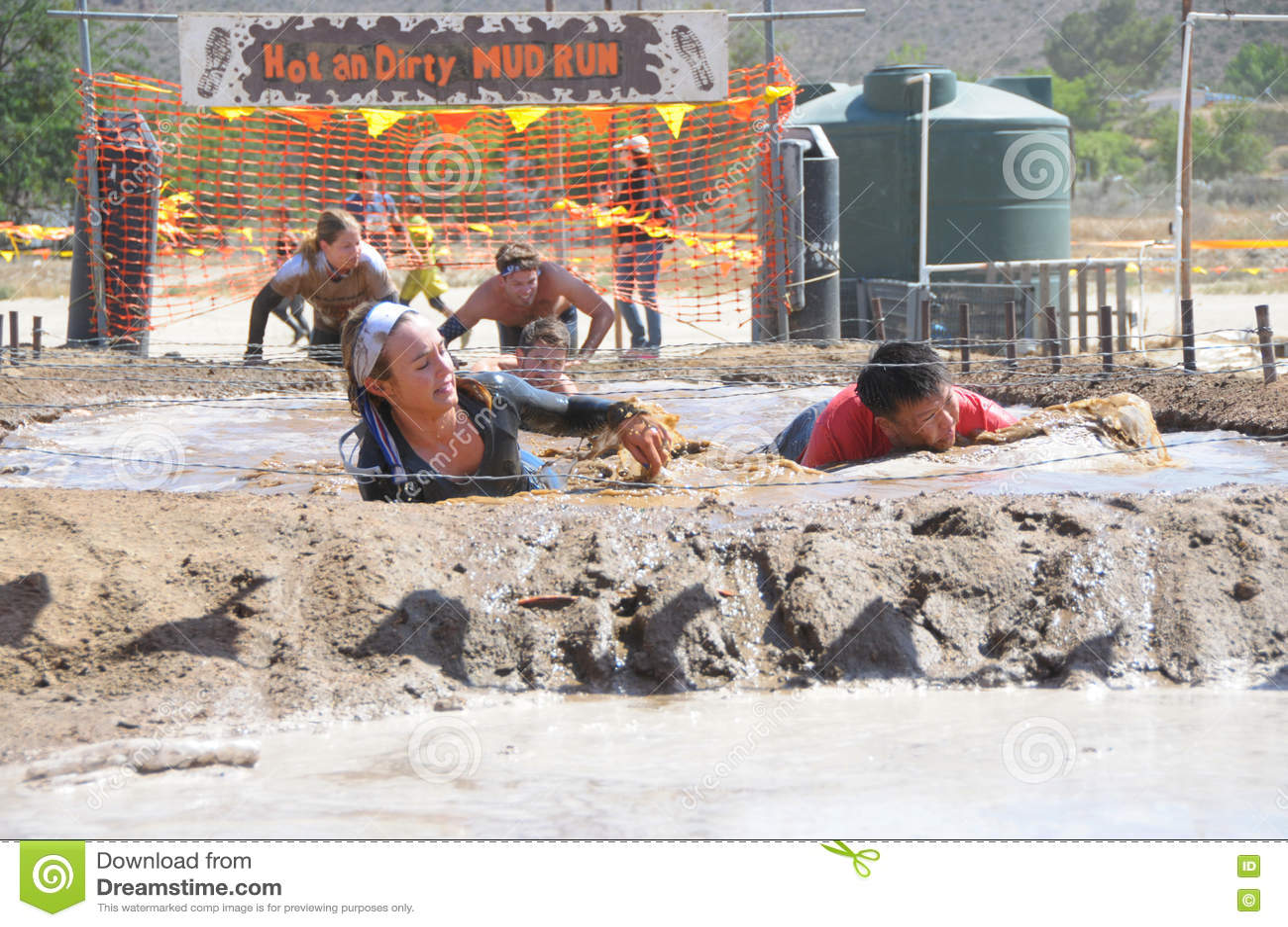 Бег грязи