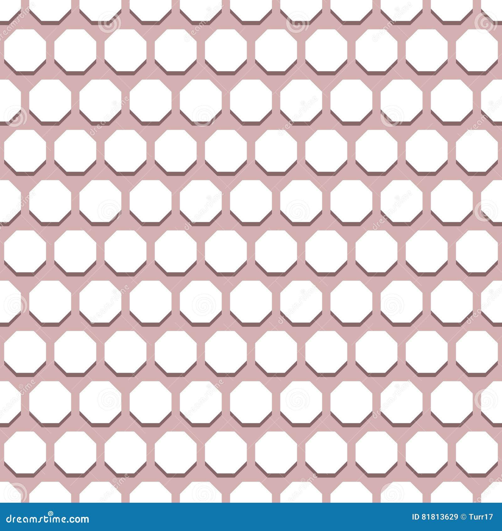 Безшовная абстрактная картина с восьмиугольниками