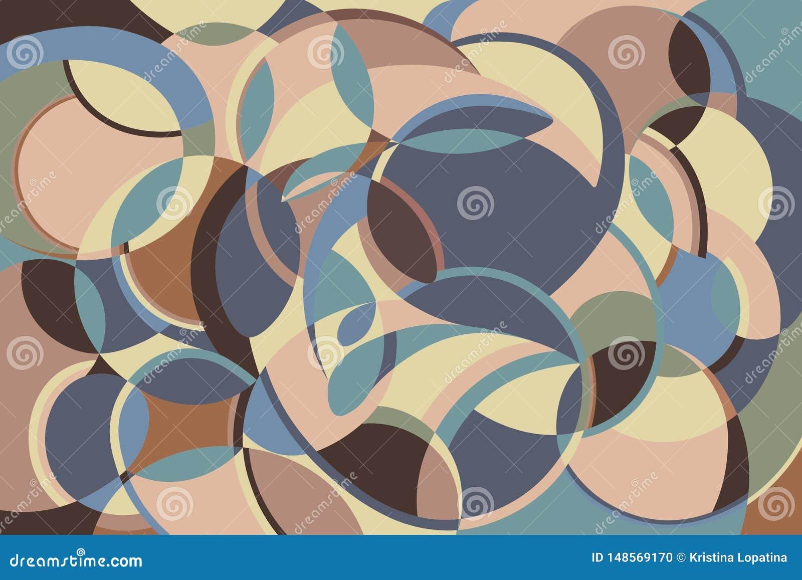 Безшовная абстрактная картина r