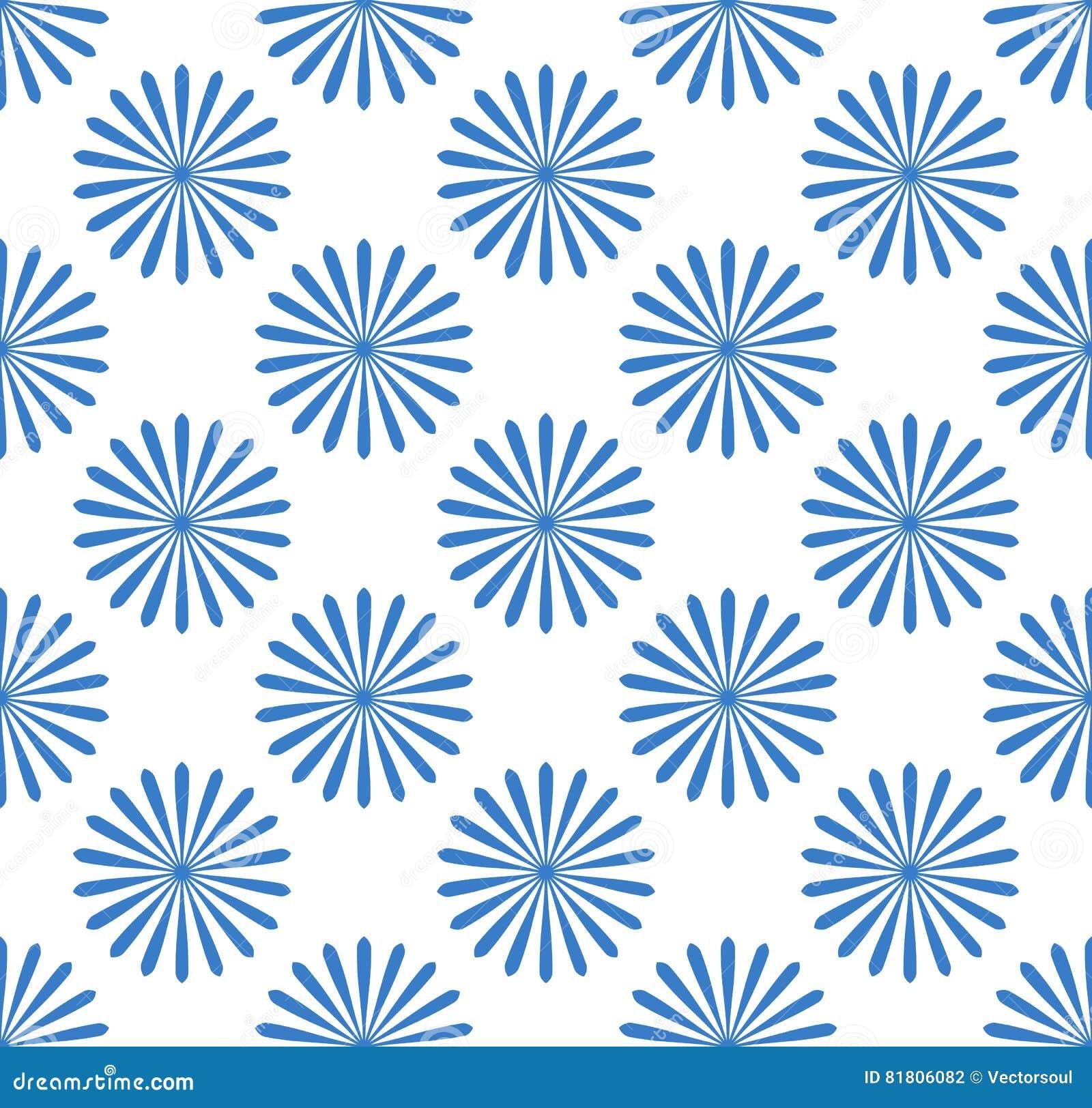 Безшовная картина, обои с мотивами цветка Простое monochrom