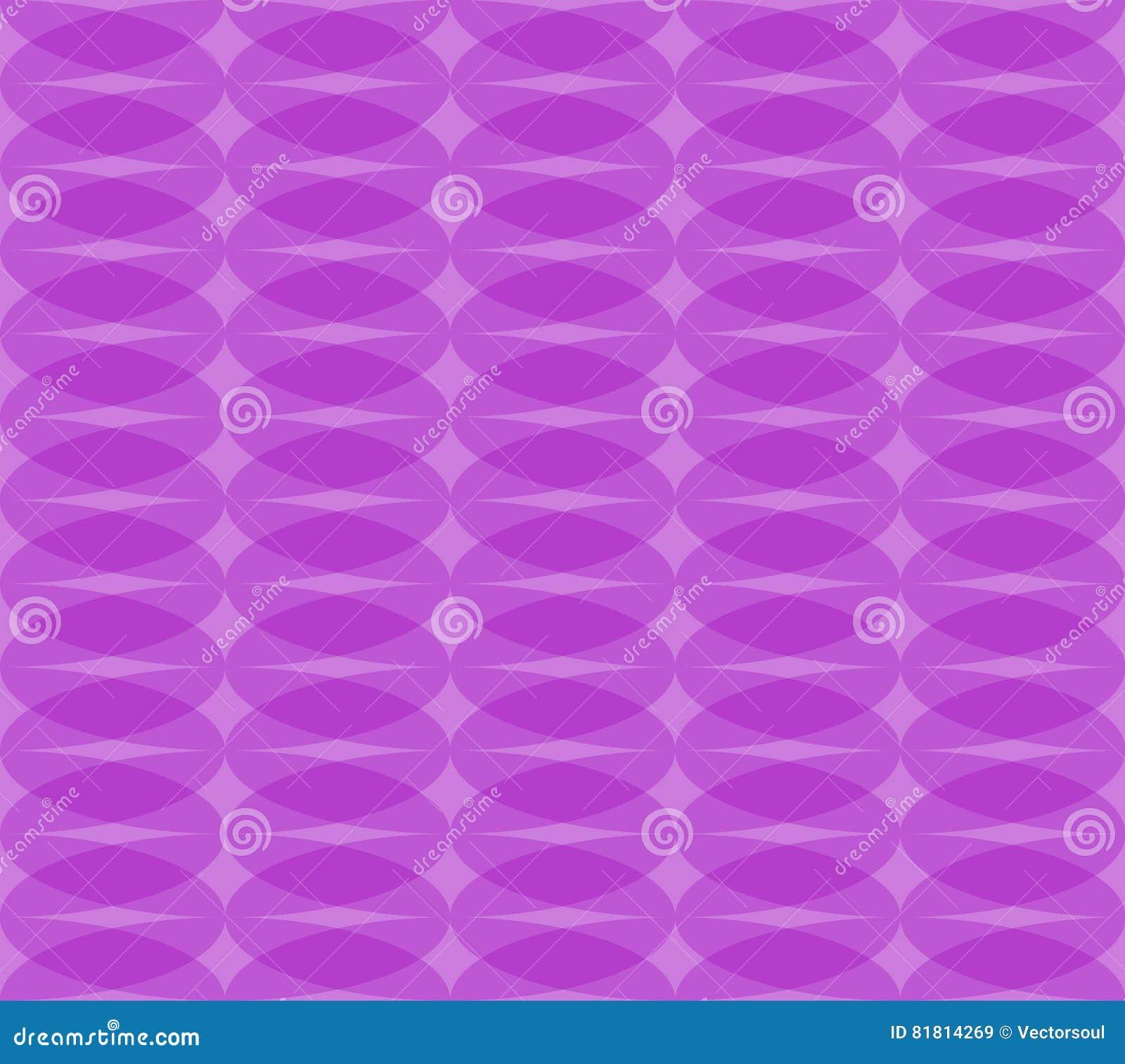 Безшовная monochrome картина с прозрачными перекрывая овалами