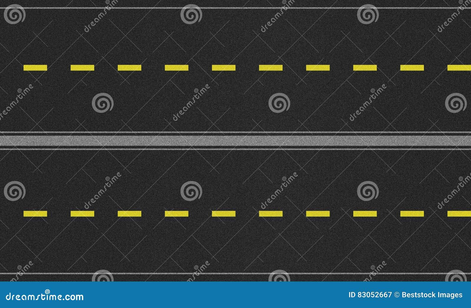 Безшовное изображение текстуры дороги 4 майн