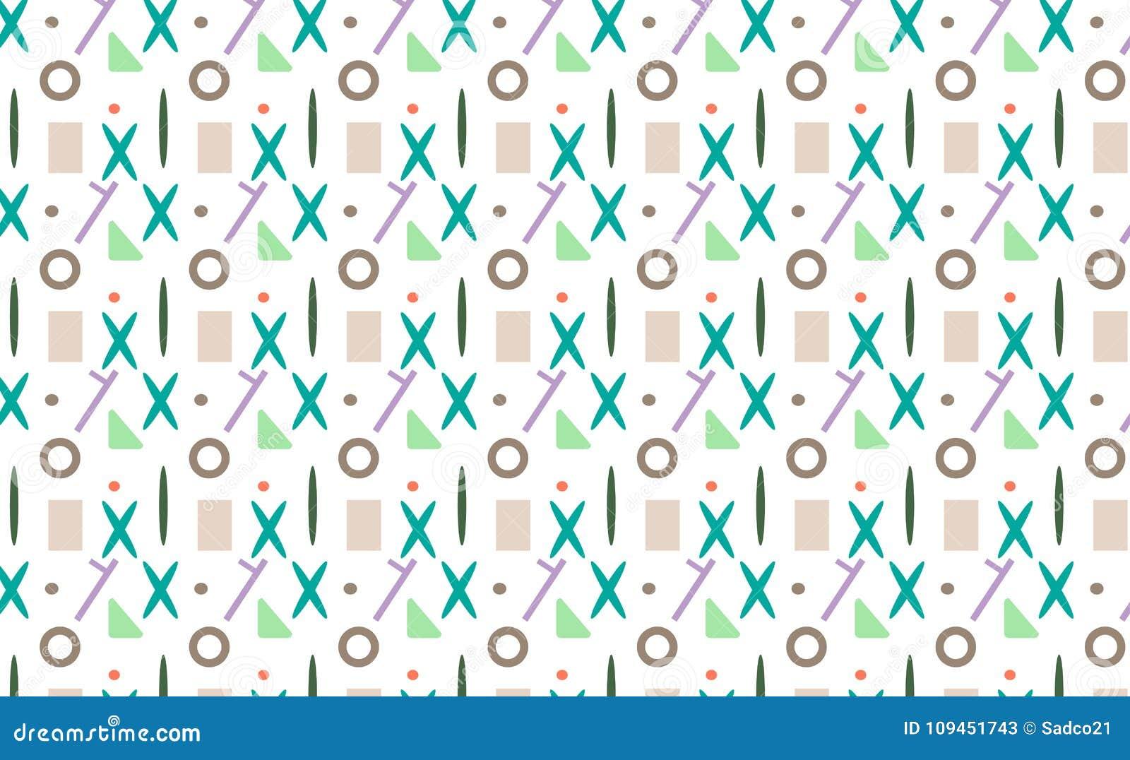 Безшовные примитивные картины с x