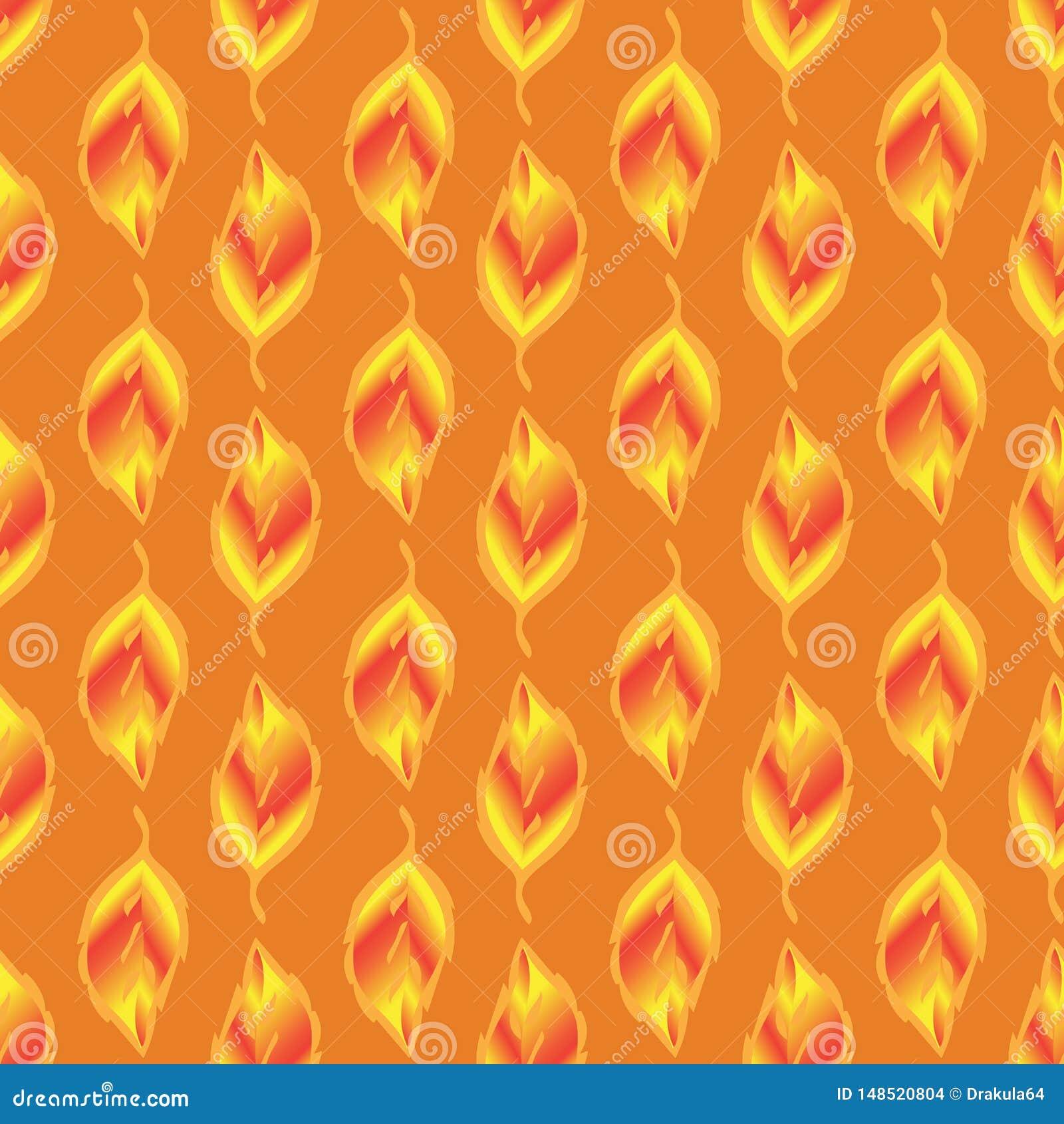 Безшовн-картин--золот-листья