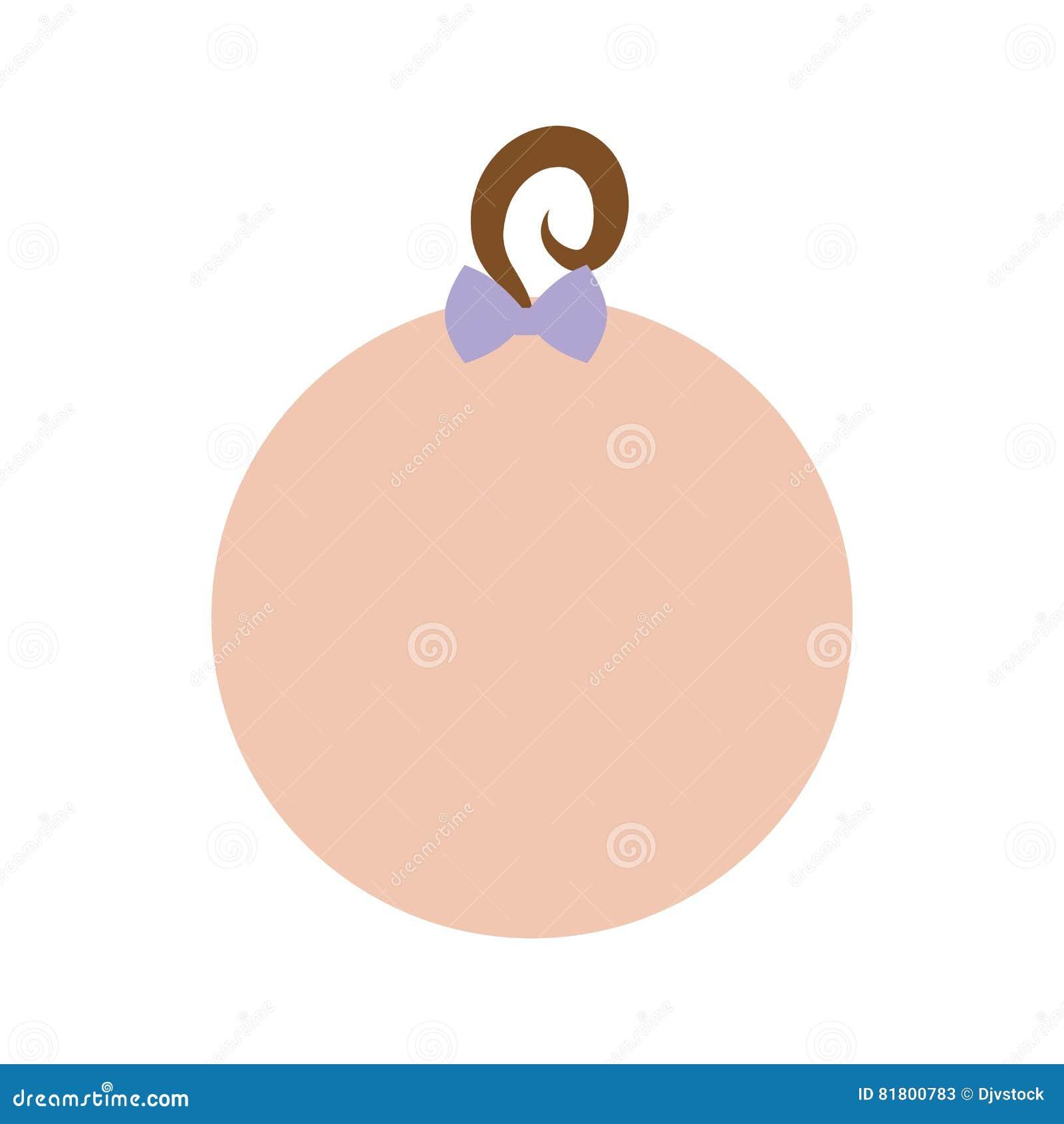 Безликое изображение значка младенца