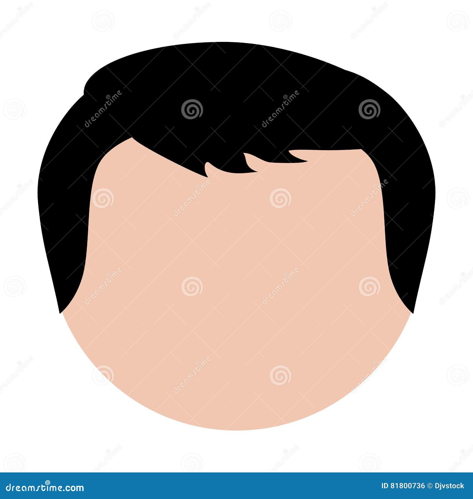 Безликое изображение значка человека