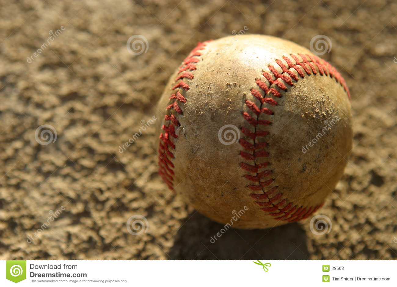 бейсбол использовал