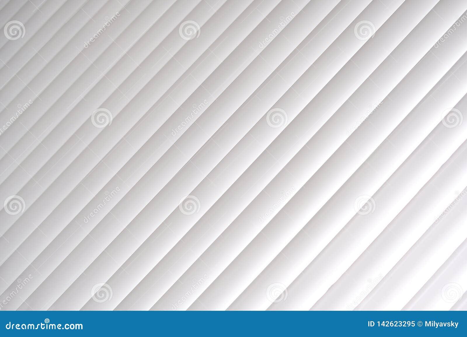 Белая абстрактная предпосылка, линии, свет