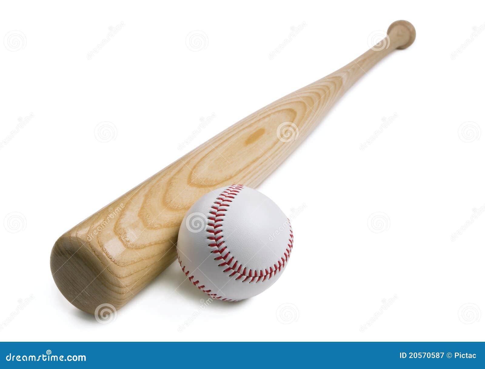 белизна бейсбольной бита