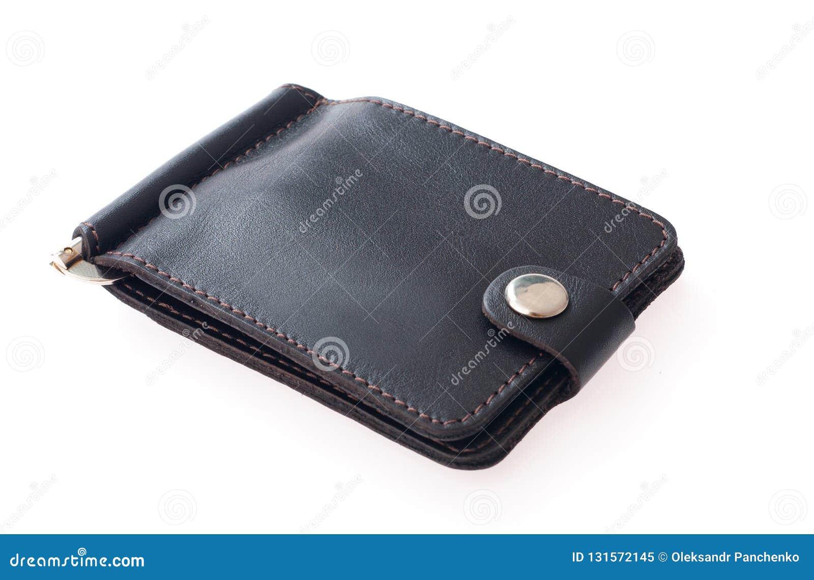 белизна бумажника типа предпосылки ретро Положение владельца карточки дела плоское