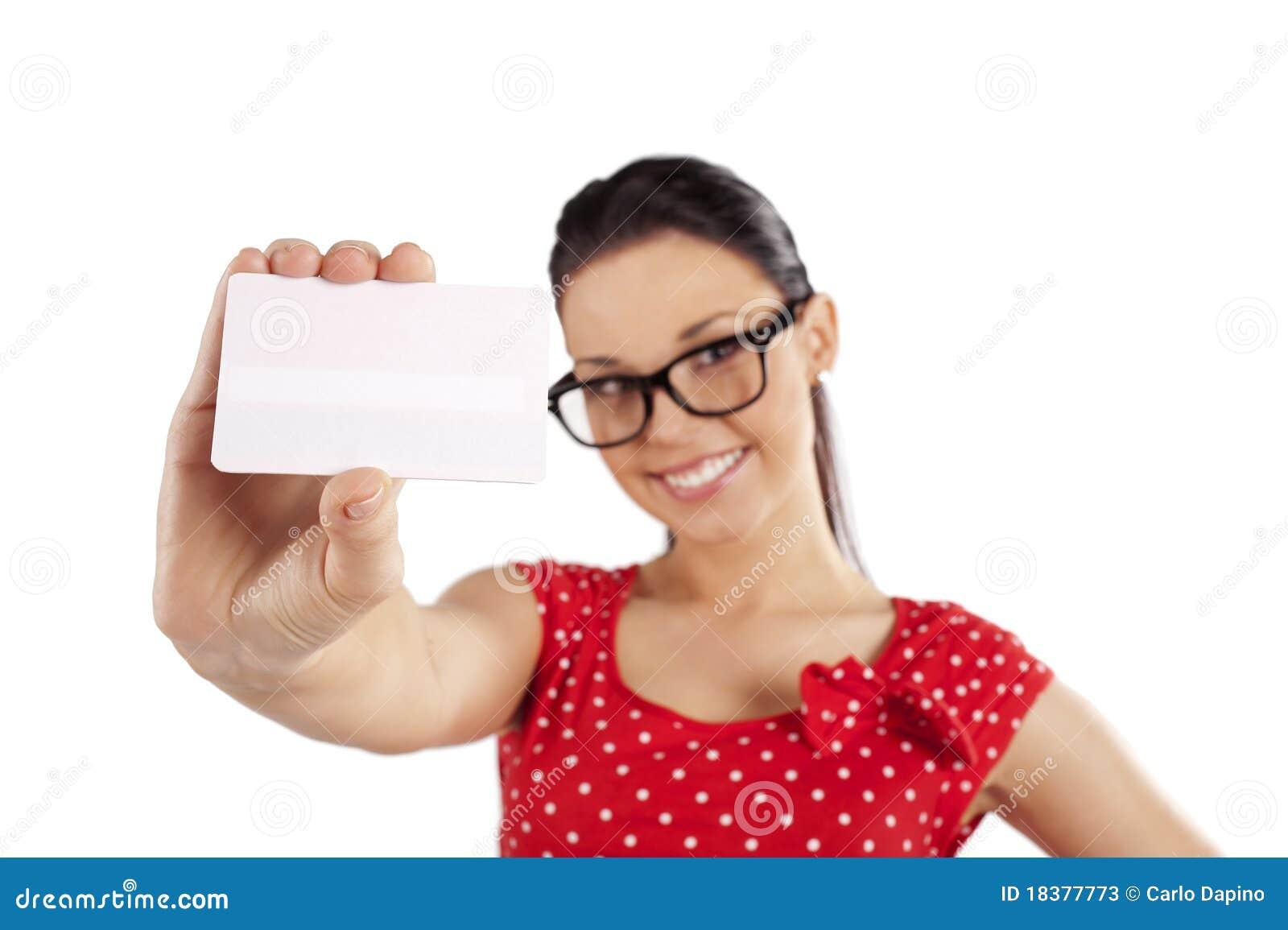 белизна визитной карточки
