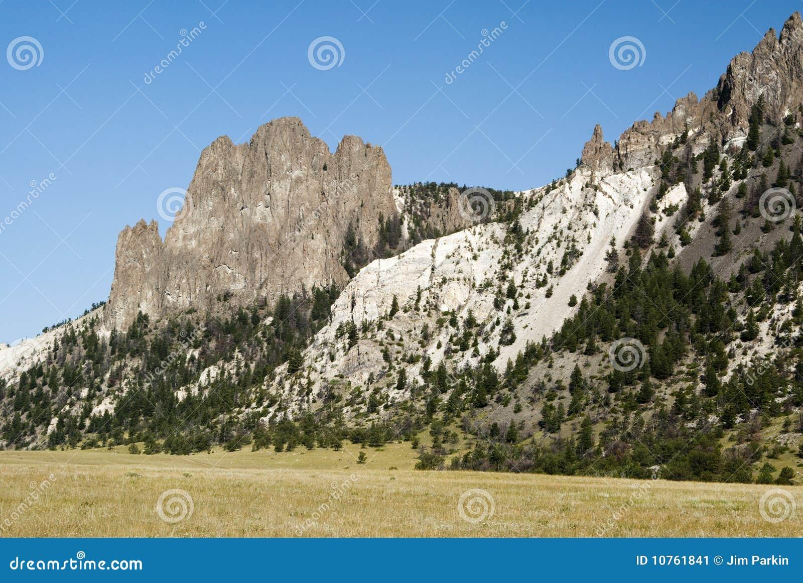 белизна горы