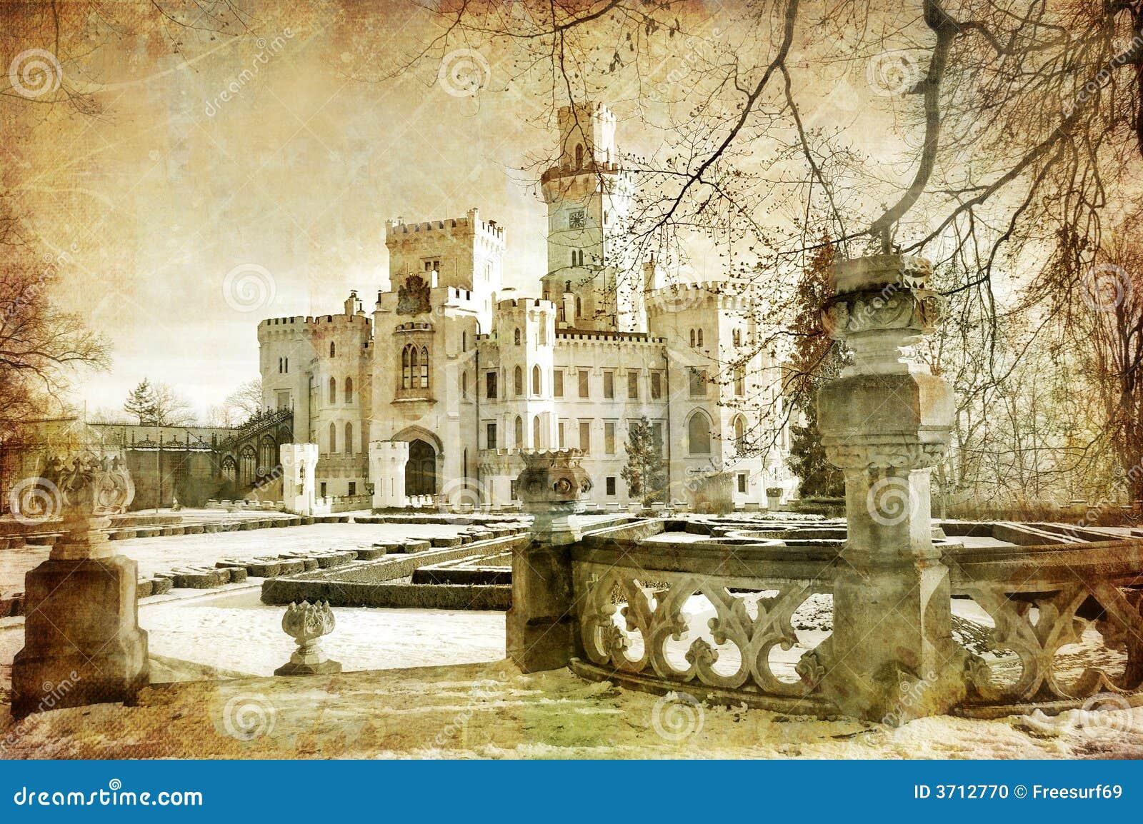 белизна замока