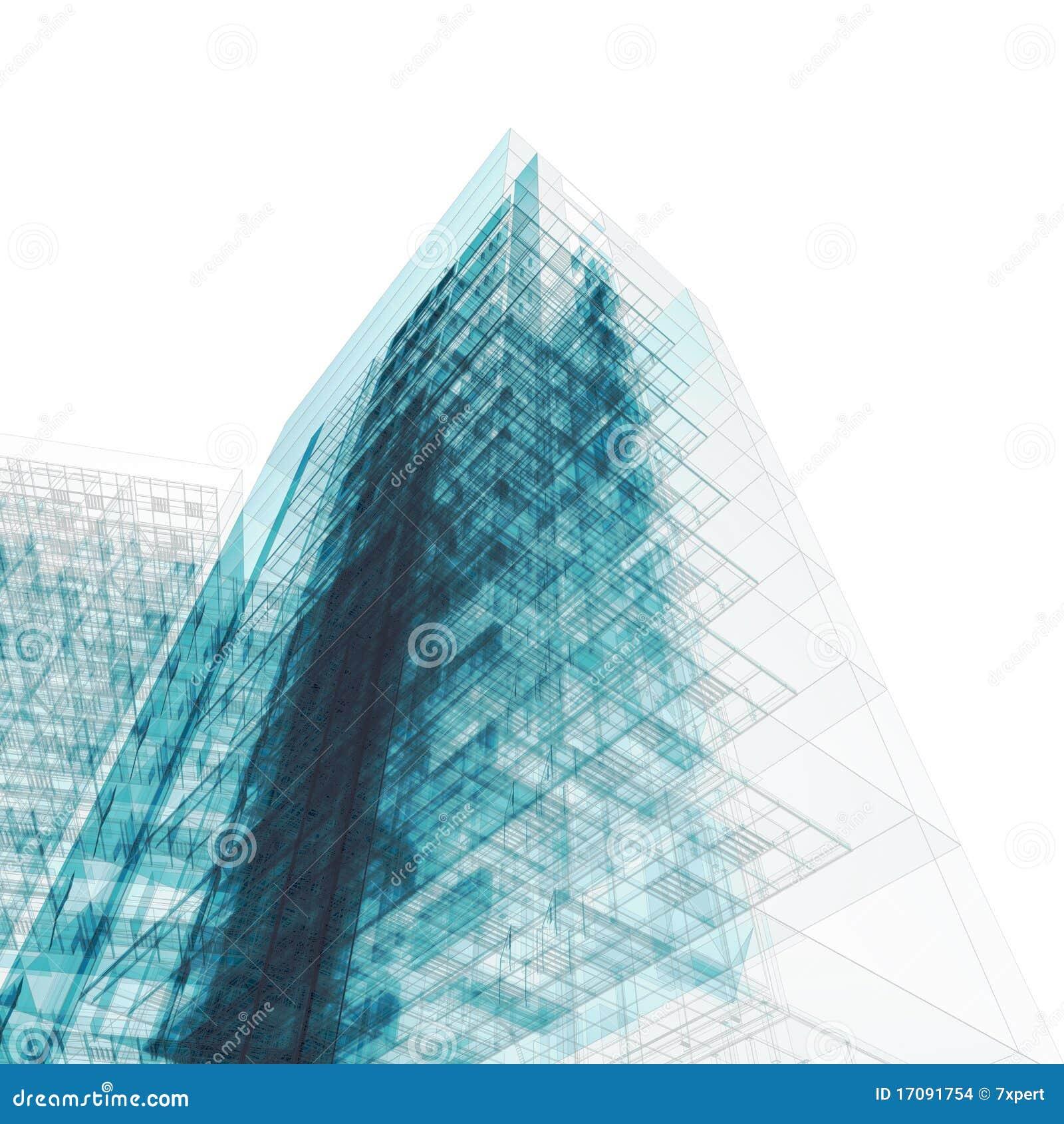 белизна здания светокопии