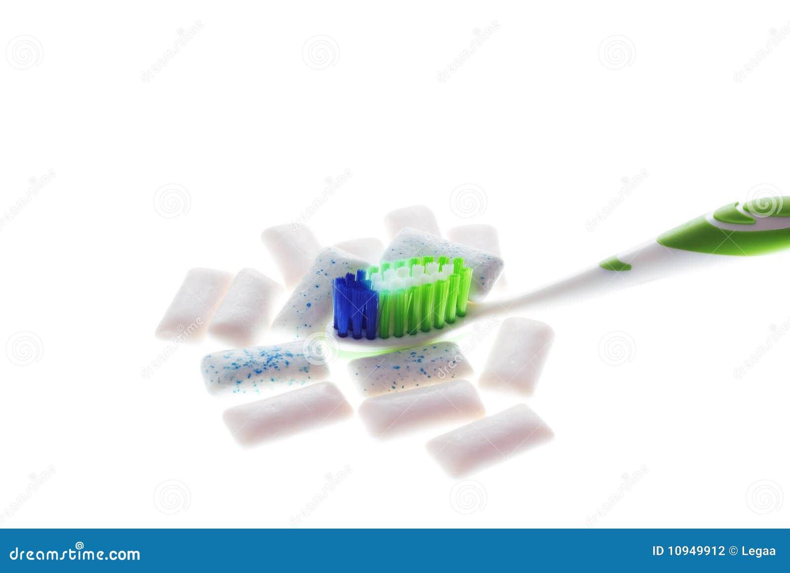 белизна зубной щетки жевательной резины предпосылки