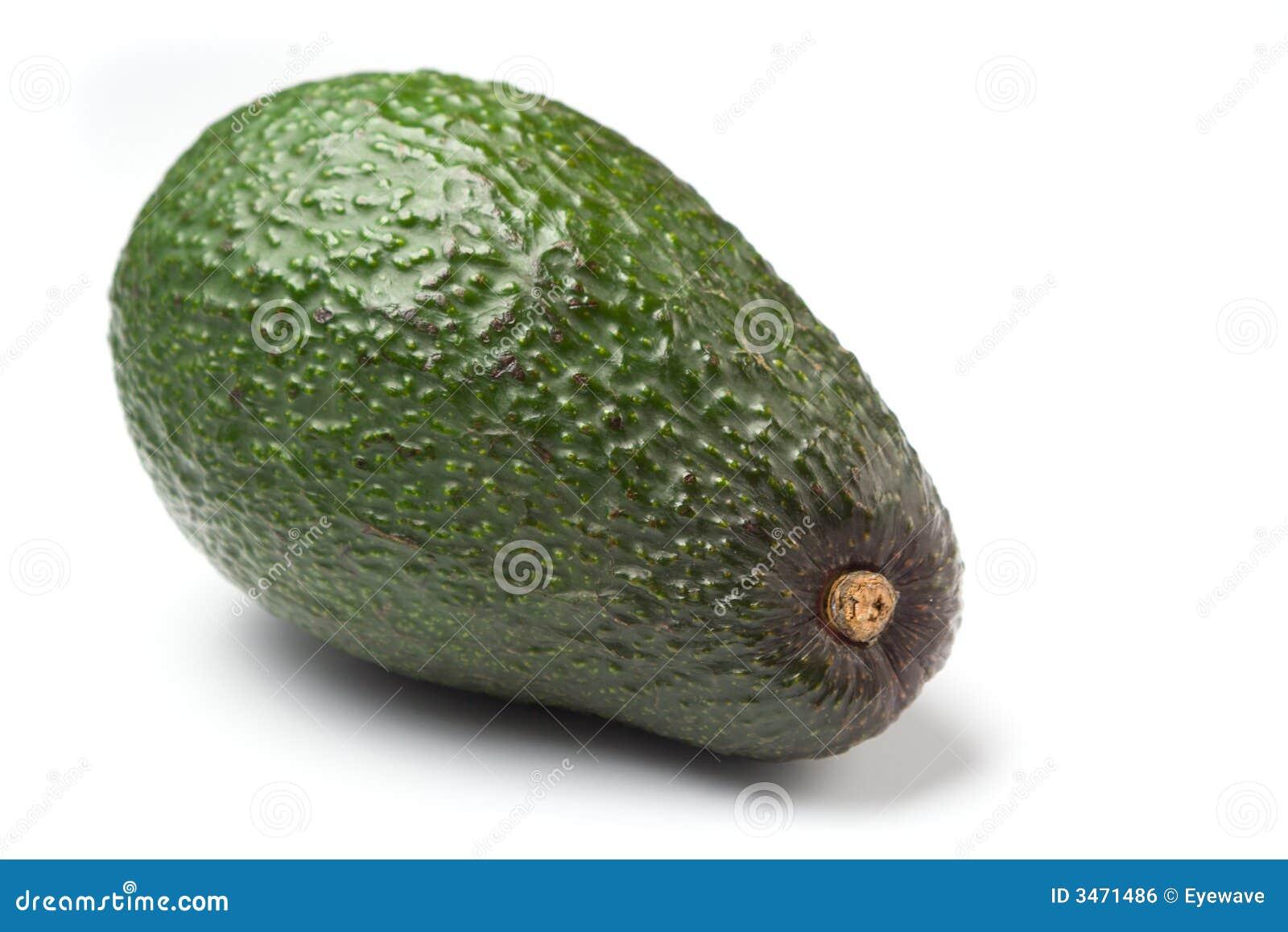 белизна изолированная авокадоом