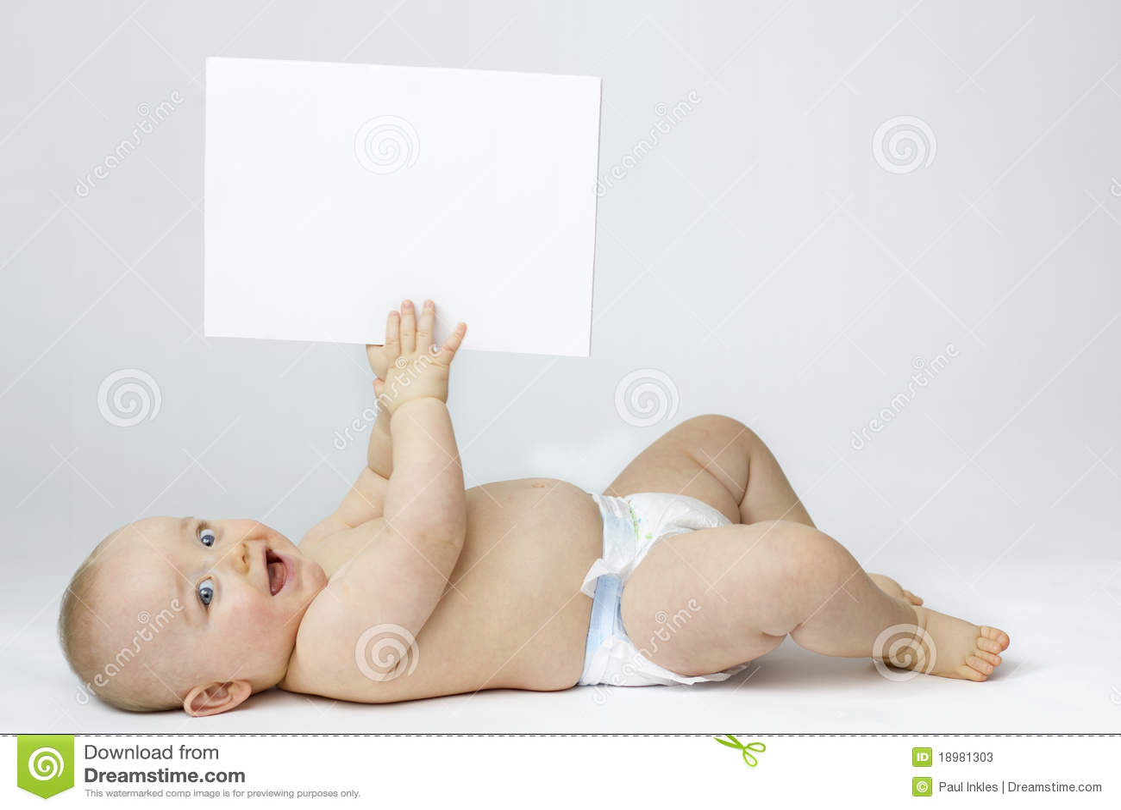 белизна изоляции доски младенца пустая