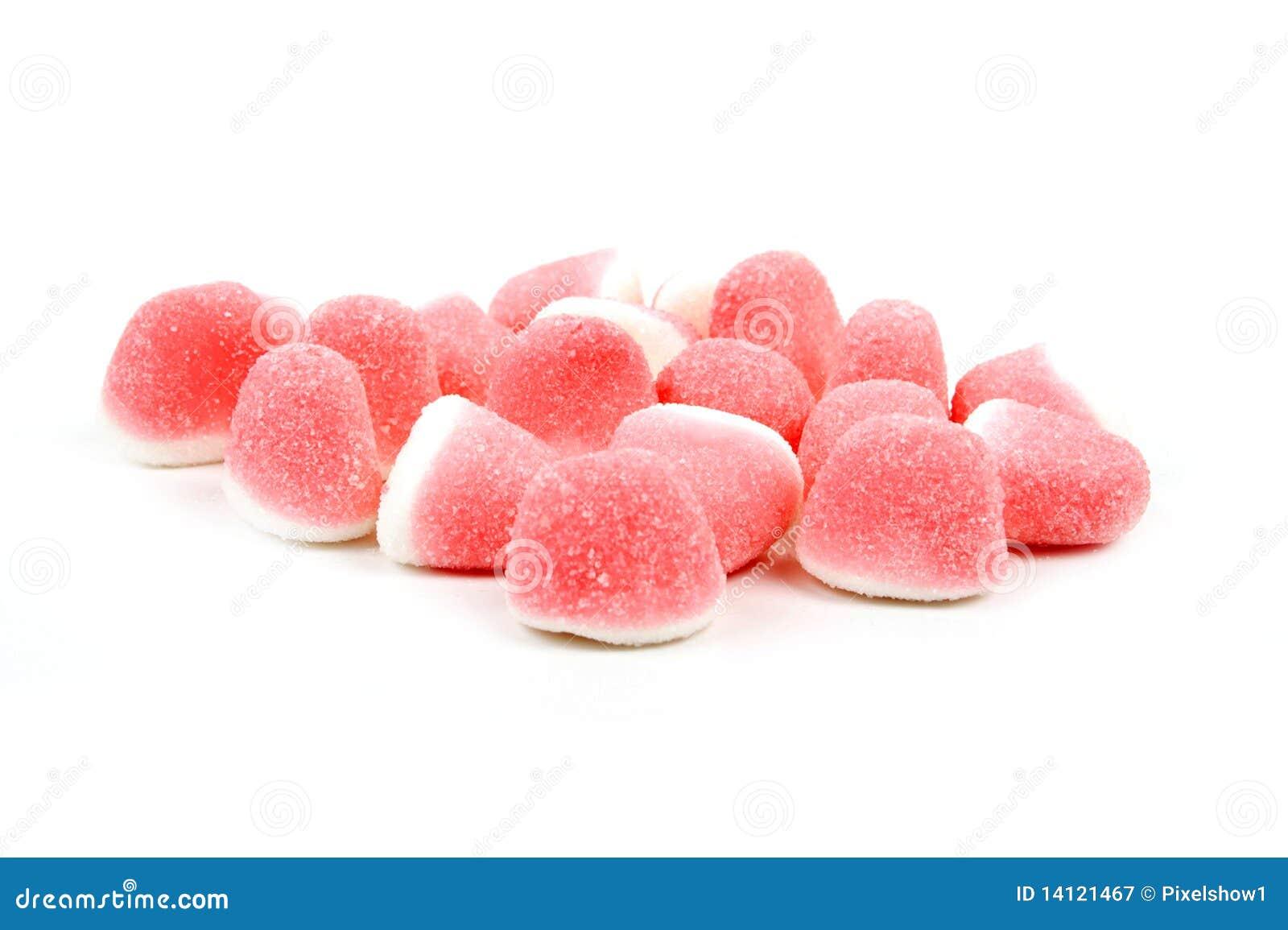 белизна конфеты розовая сладостная