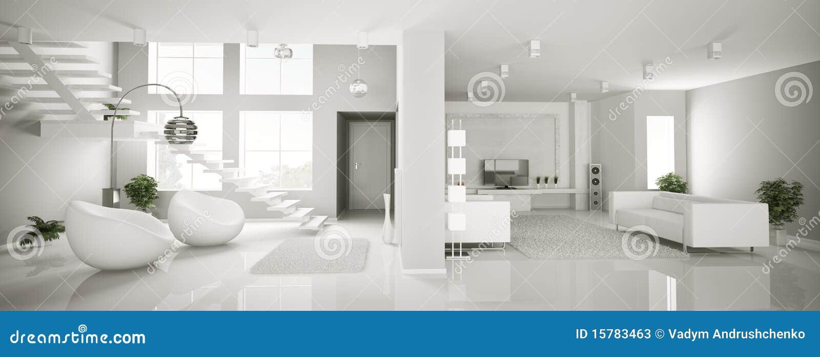 белизна панорамы квартиры 3d нутряная