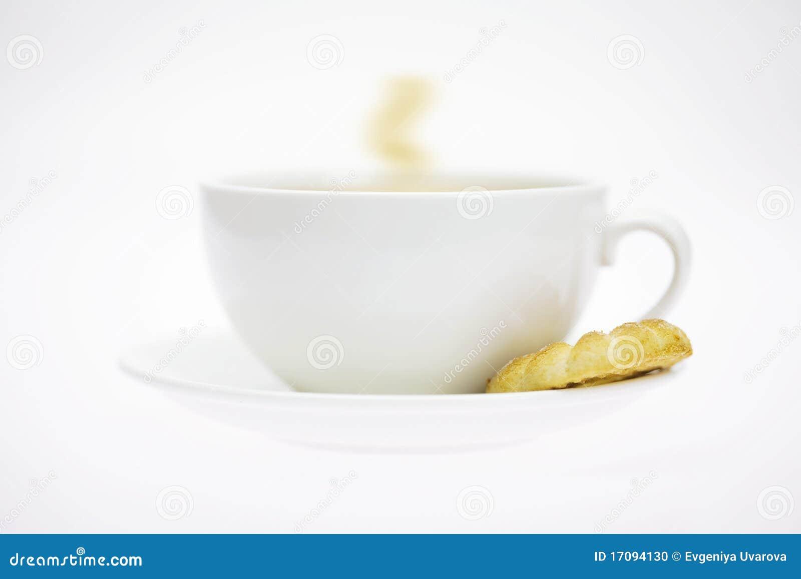 белизна печенья чашки