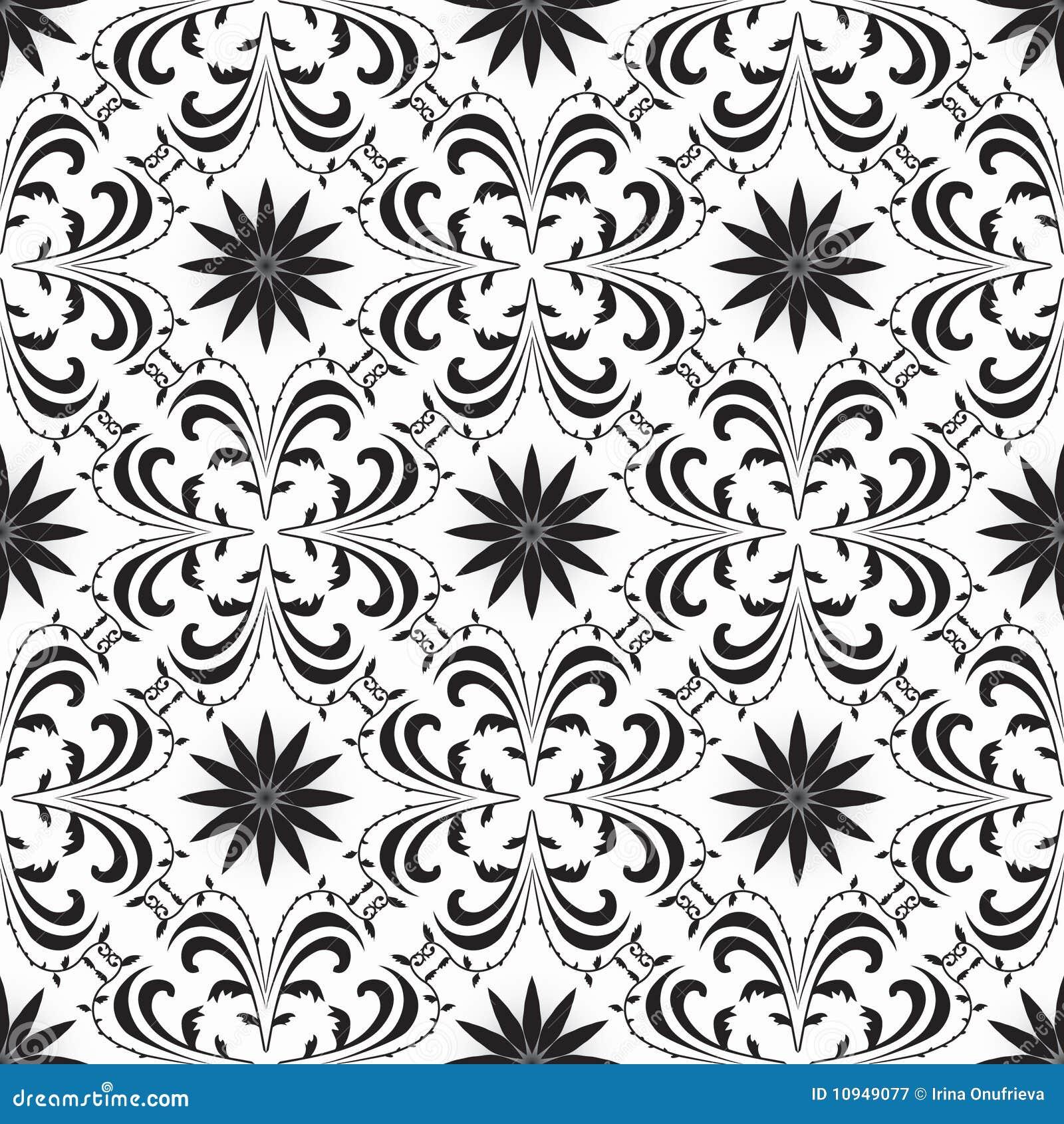 белизна предпосылки черная геометрическая безшовная