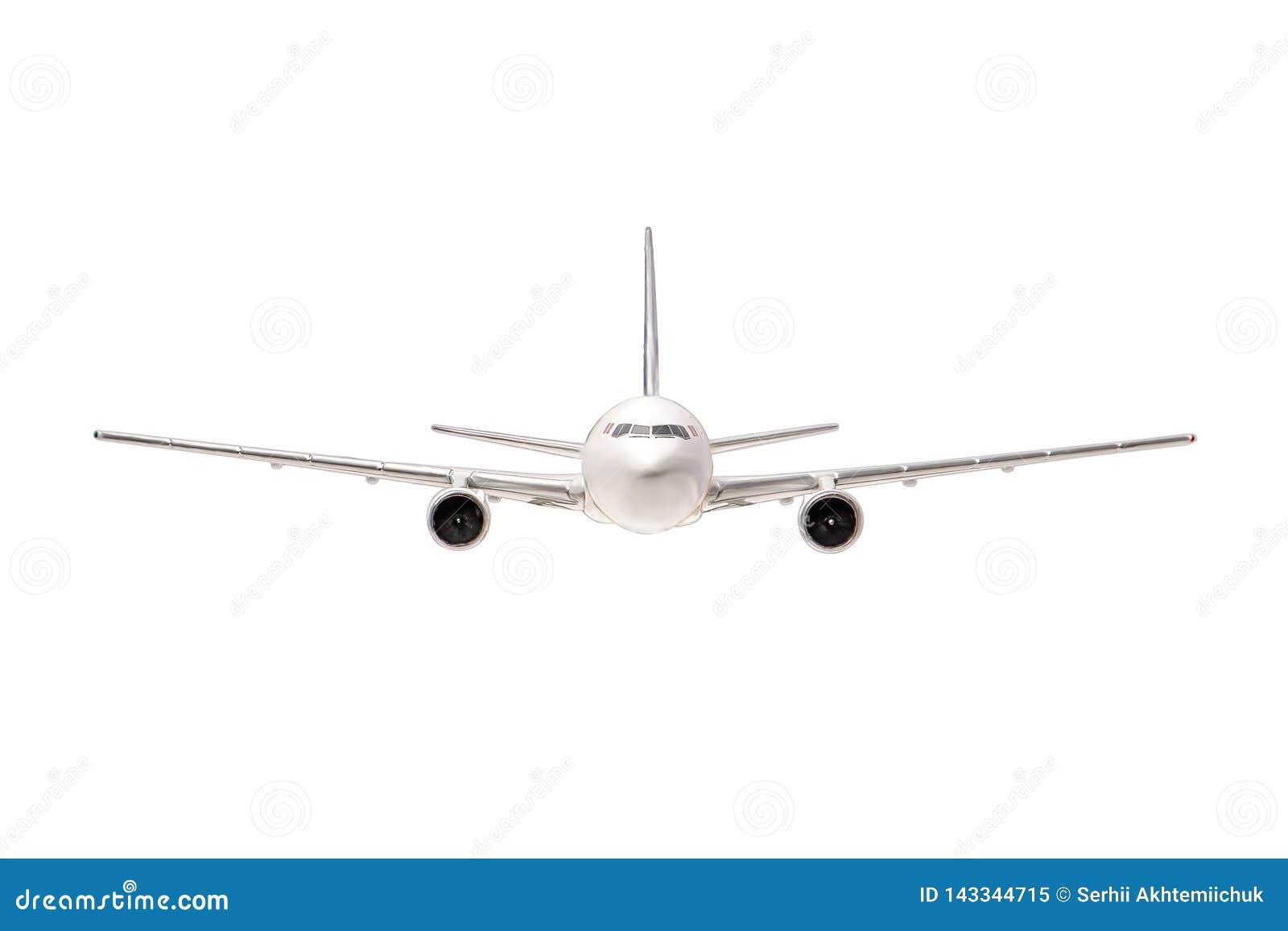 белизна самолета изолированная предпосылкой Все приятности для дизайнера