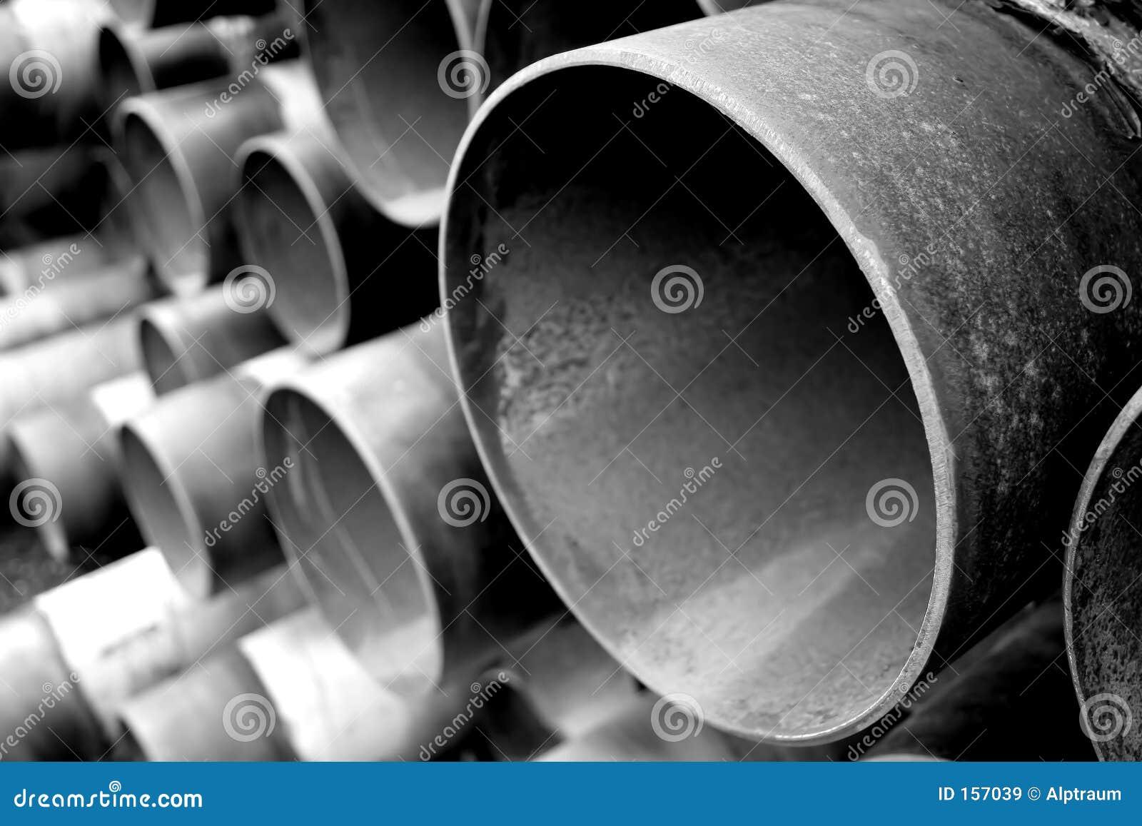 белизна труб из черного металла стальная