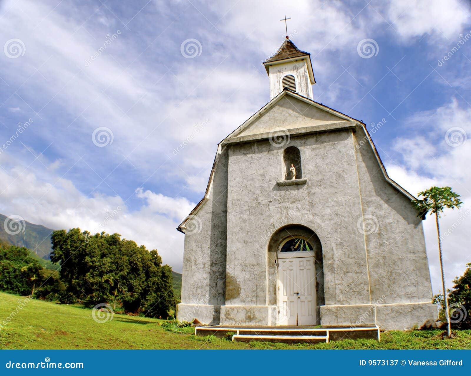 белизна maui церков