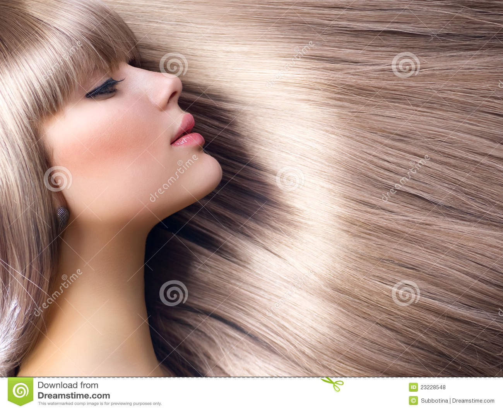 белокурые волосы девушки способа