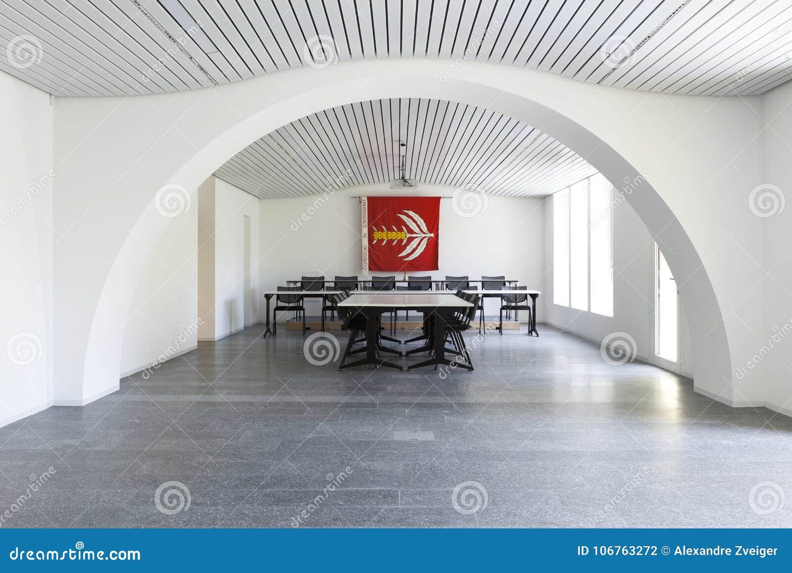 Белый конференц-зал Никто внутрь