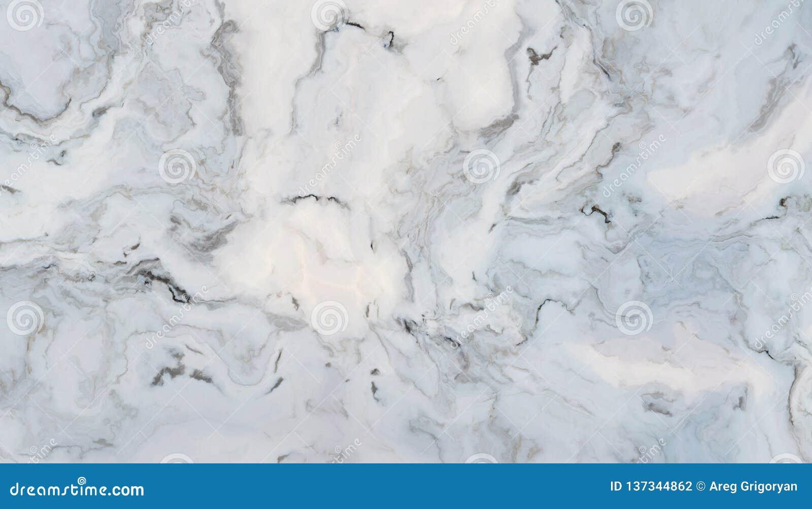 Белый курчавый мрамор