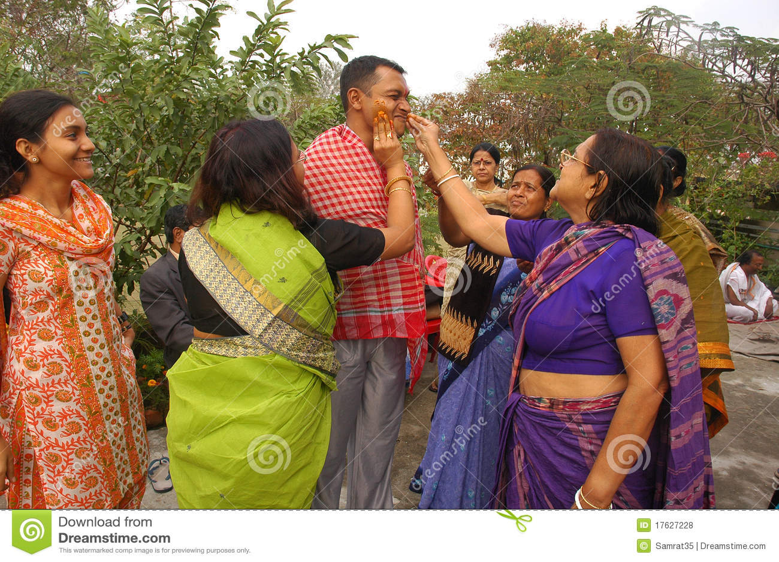 бенгальские ритуалы Индии wedding