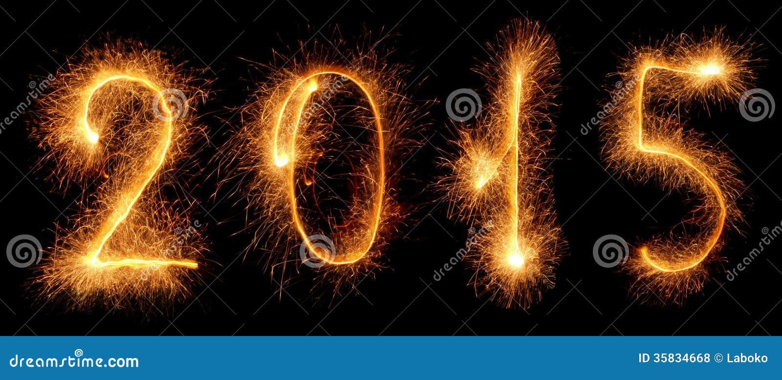 Бенгальский огонь. Новый Год 2015
