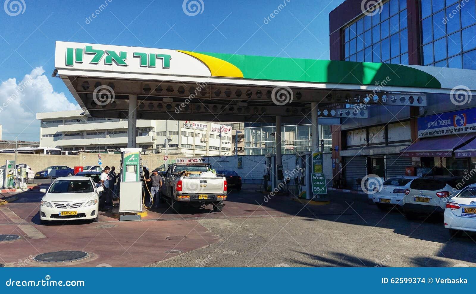 Бензозаправочная колонка Dukhifat в Rishon LeZion