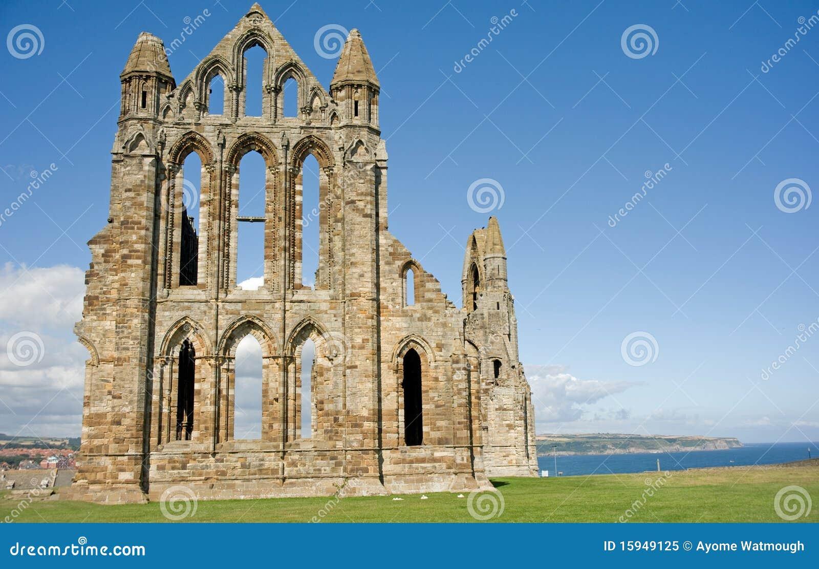 береговая линия аббатства whitby