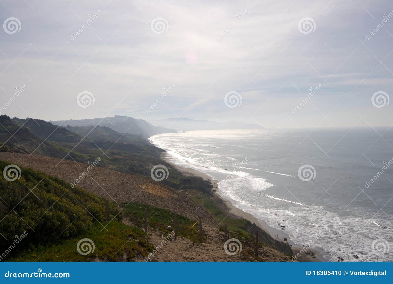 береговая линия california