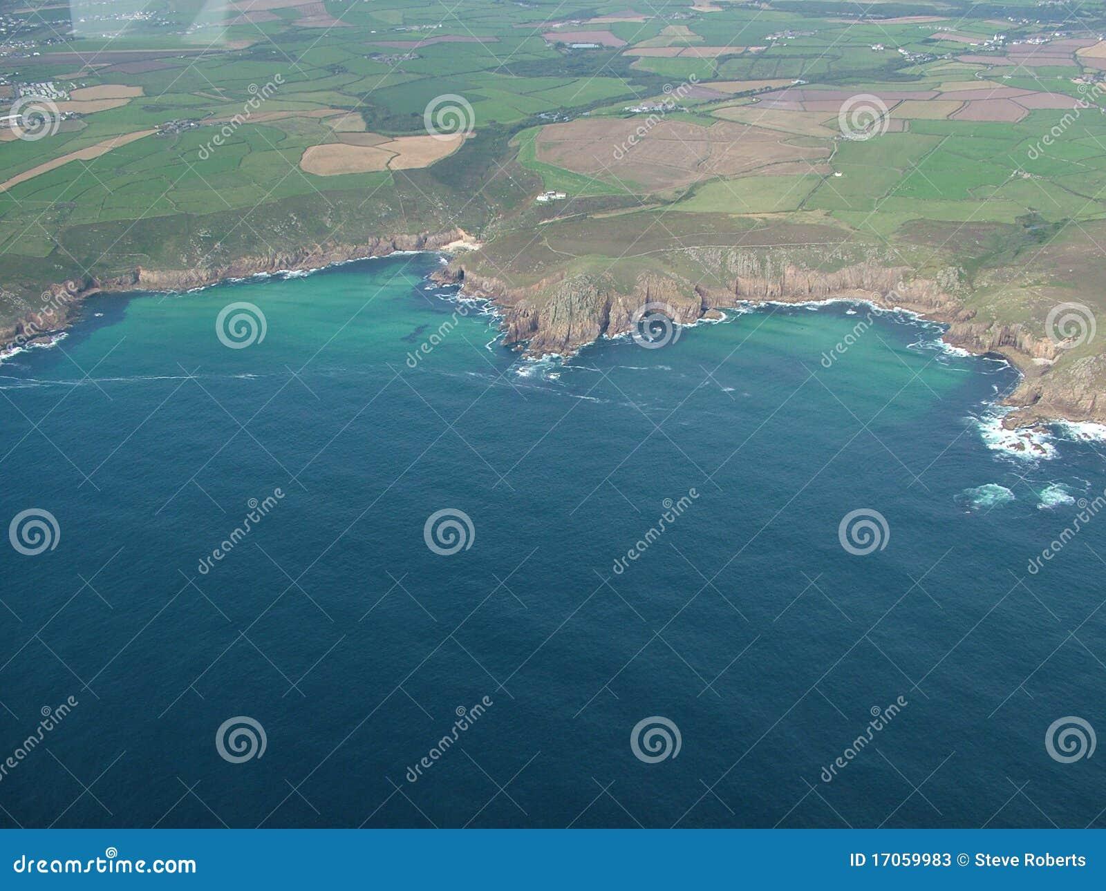 береговая линия cornwall