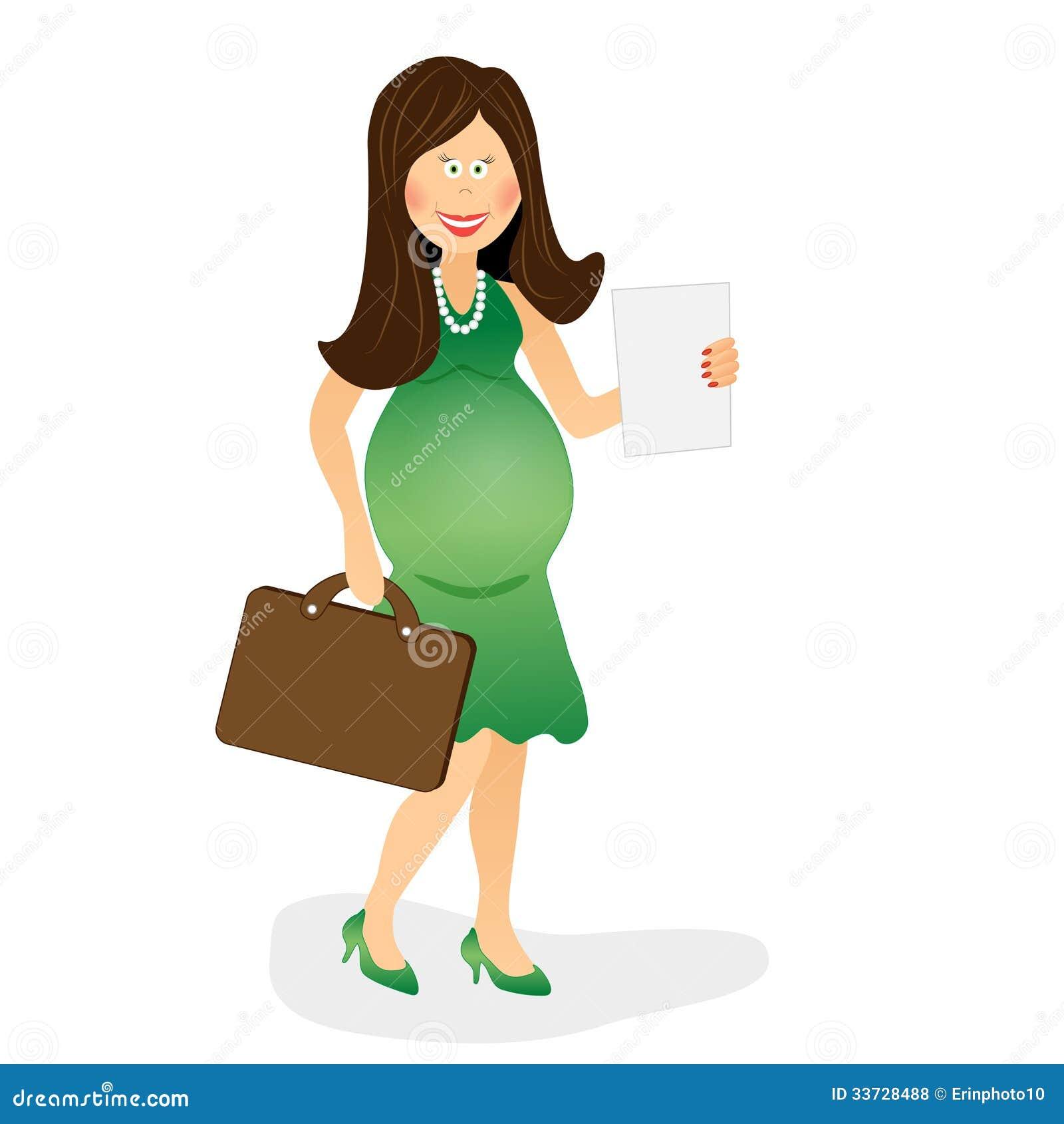 Беременная бизнес-леди 2